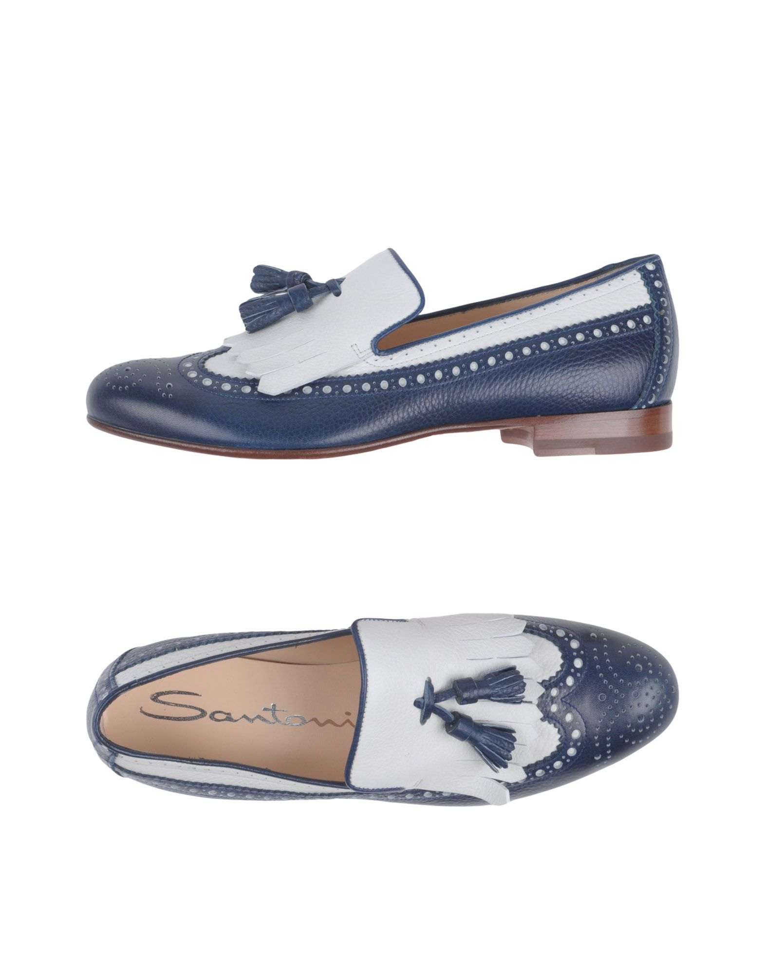 Stilvolle billige Schuhe Santoni Mokassins Damen  11387065SE