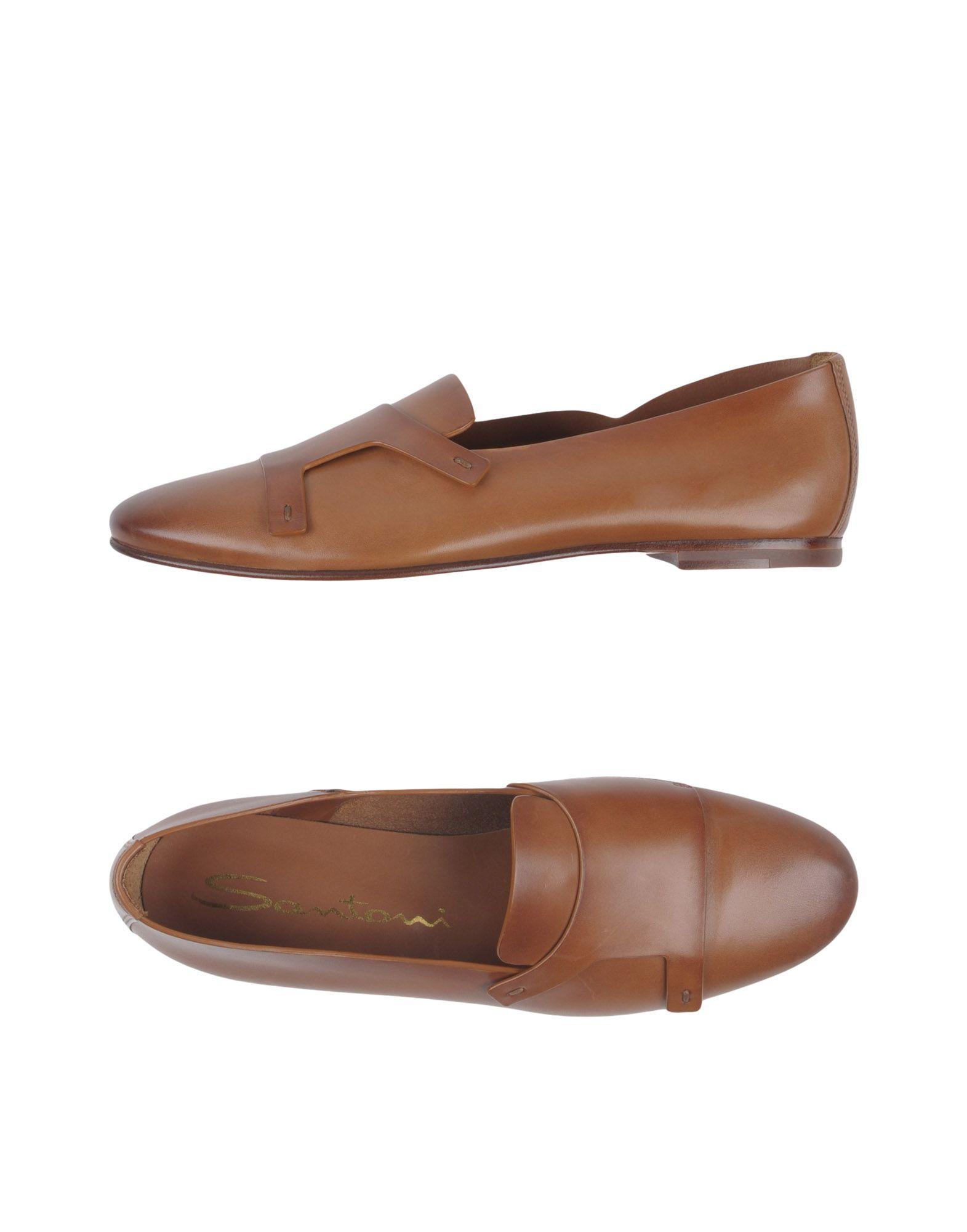 Rabatt Schuhe Santoni Mokassins Damen  11387206DH