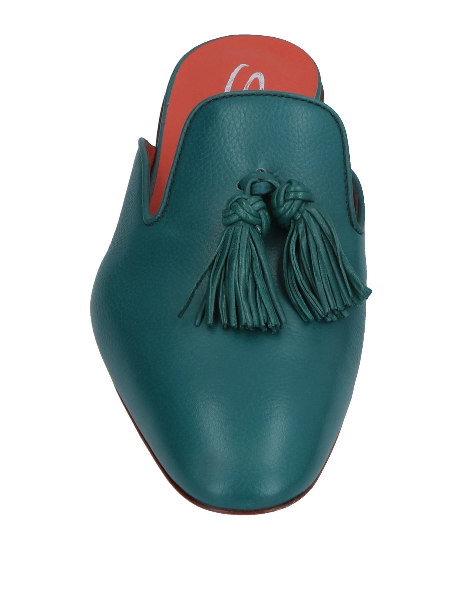 Haltbare Mode billige Schuhe Santoni Pantoletten Damen  11387360QF Heiße Schuhe