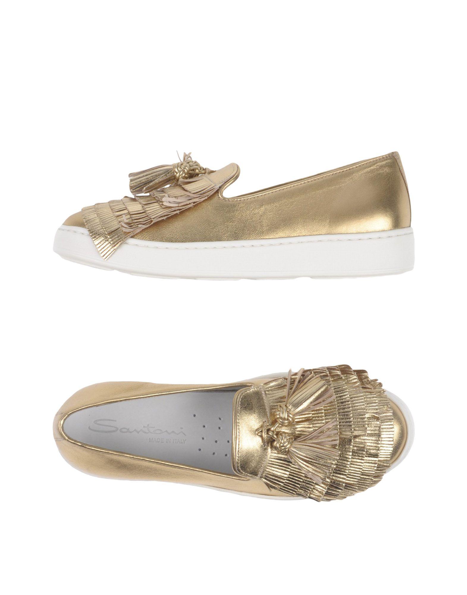 Rabatt Schuhe Santoni Mokassins Damen  11387385HI