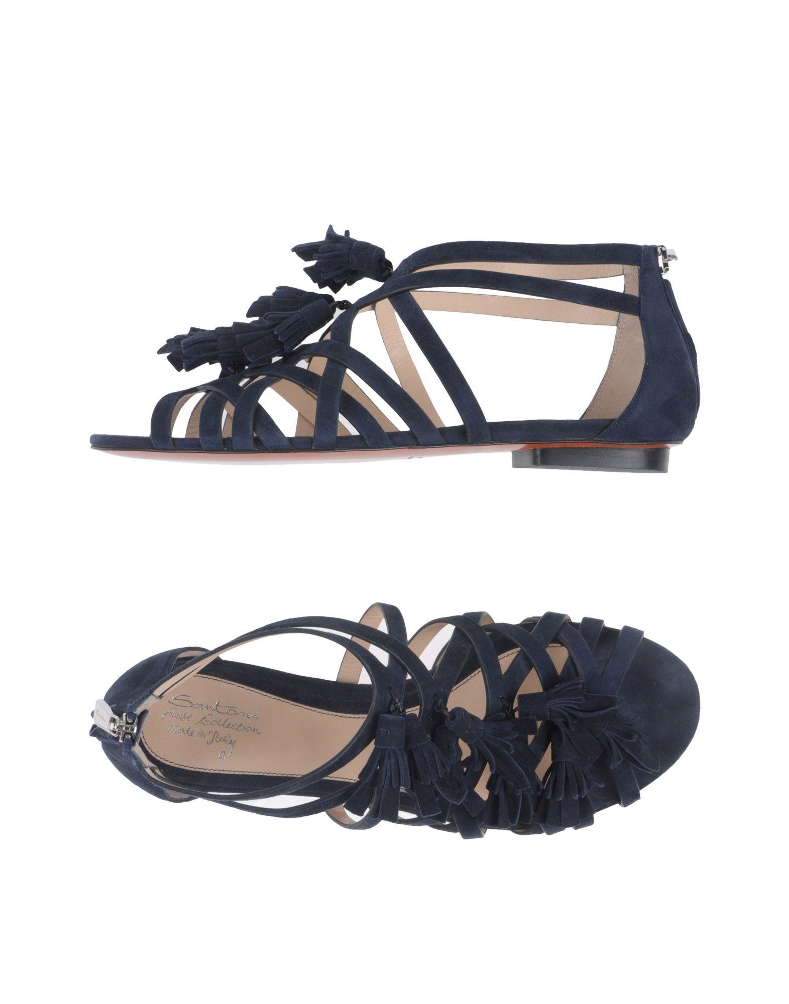 Stilvolle billige Schuhe Santoni Sandalen Damen  11387487QK