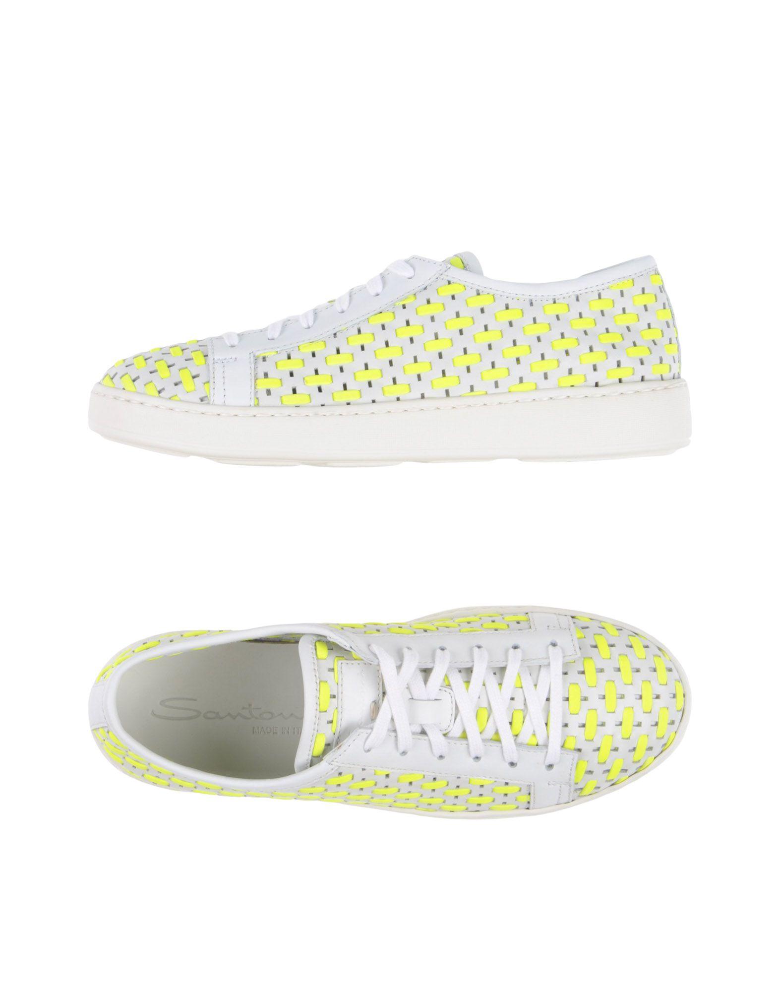 Stilvolle billige Schuhe Santoni Sneakers Damen  11387509QG
