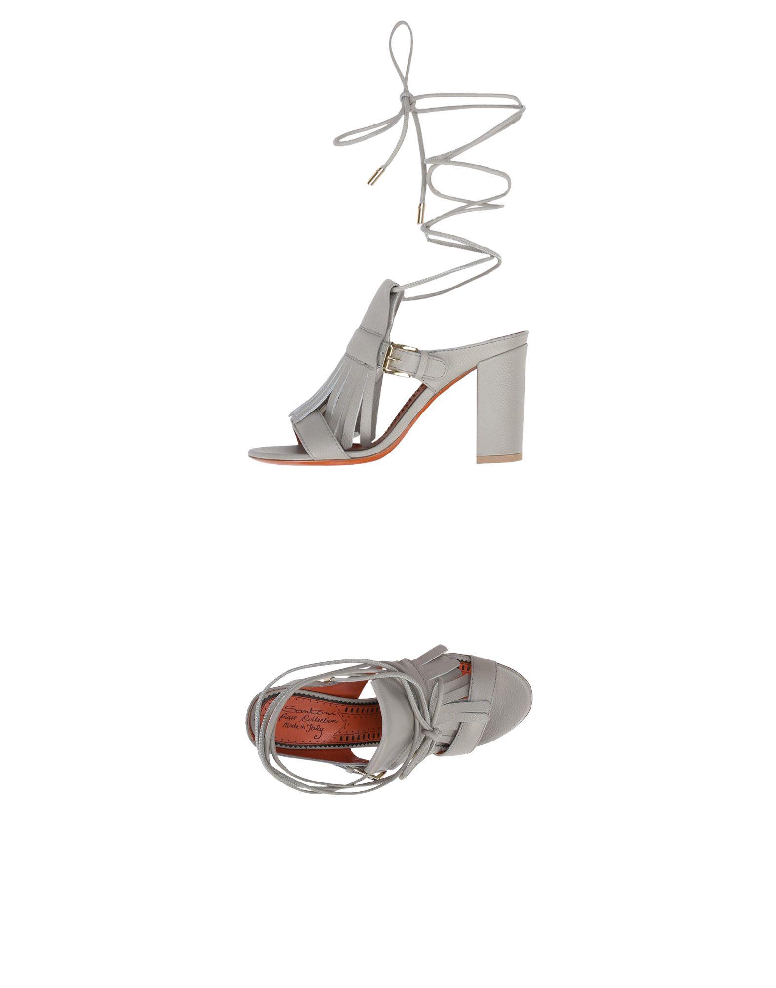 Stilvolle billige Schuhe Santoni Sandalen Damen  11387538MW