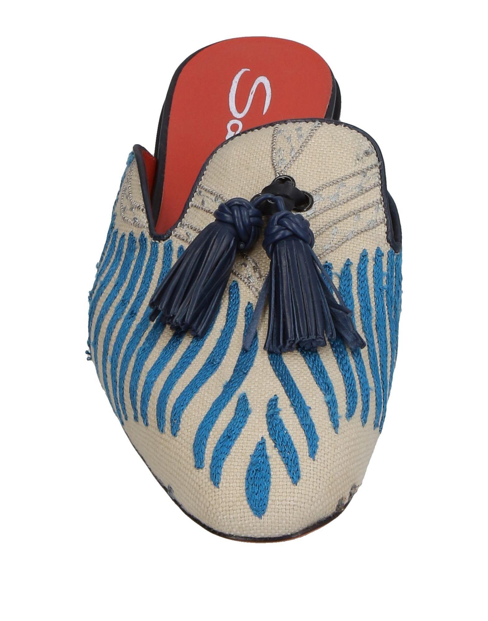 Santoni Pantoletten Pantoletten Santoni Damen  11387580NG Heiße Schuhe 1fd1b5