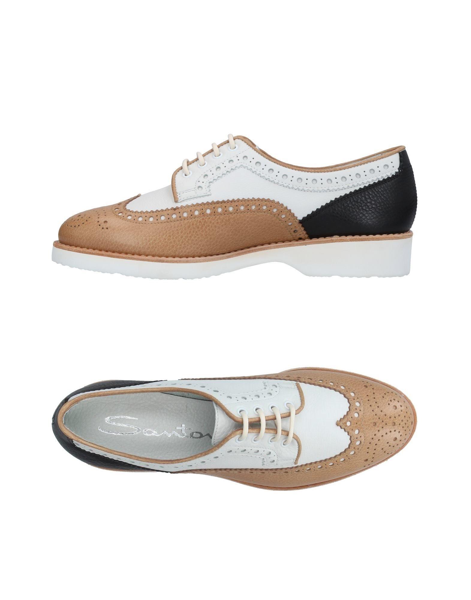Haltbare Mode billige Schuhe Santoni Schnürschuhe Damen  11387625QW Heiße Schuhe