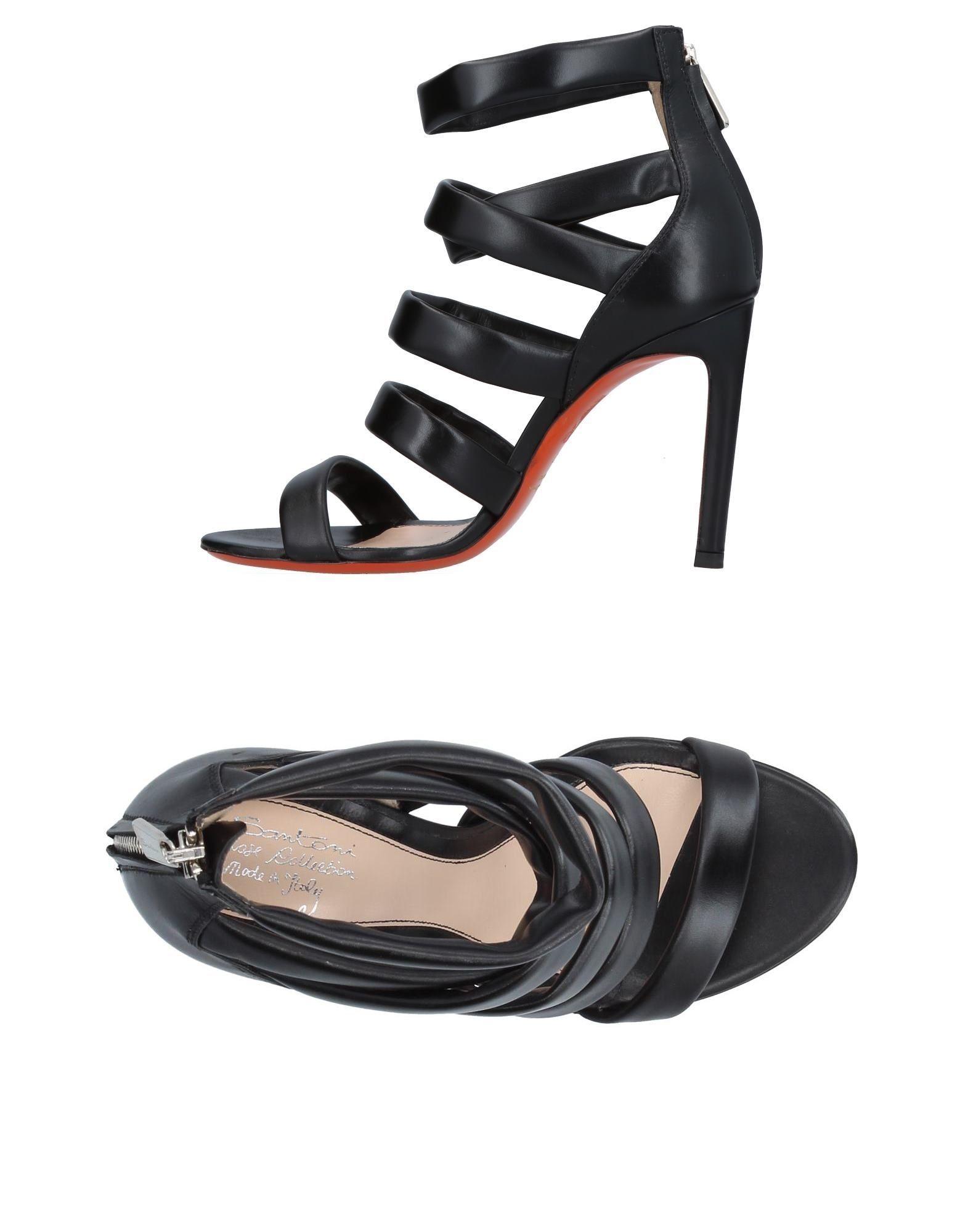 Haltbare Mode billige Schuhe Santoni Sandalen Damen  11387681RS Heiße Schuhe