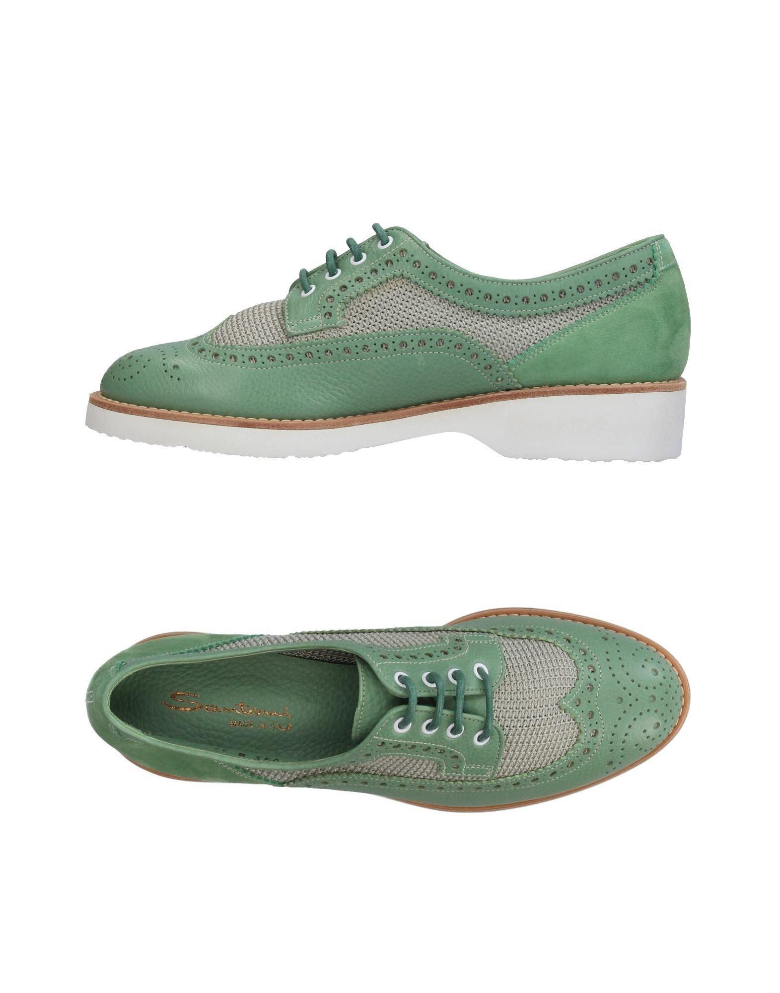 Haltbare Mode billige Schuhe Santoni Schnürschuhe Damen  11388064JD Heiße Schuhe