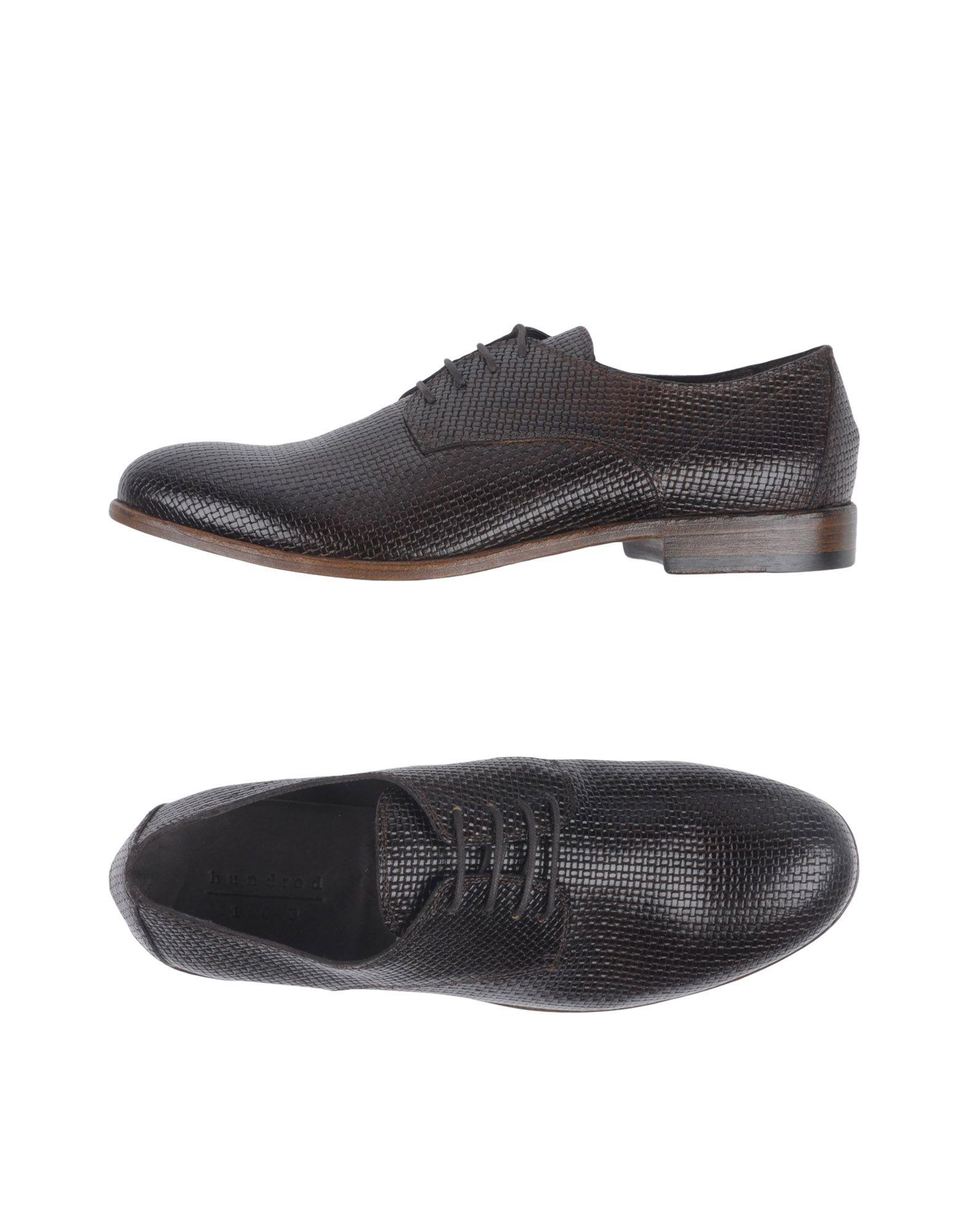 Rabatt echte Schuhe Hundred 100 Schnürschuhe Herren  11388070JN