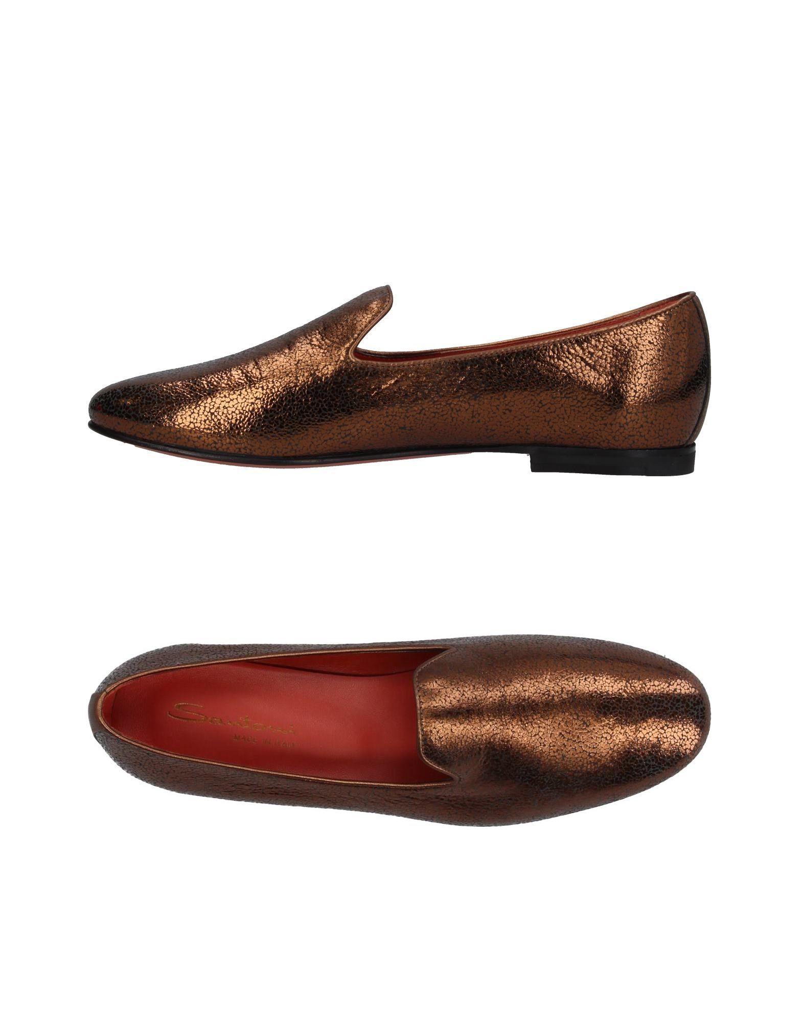 Stilvolle billige Schuhe Santoni Mokassins Damen  11388086OM