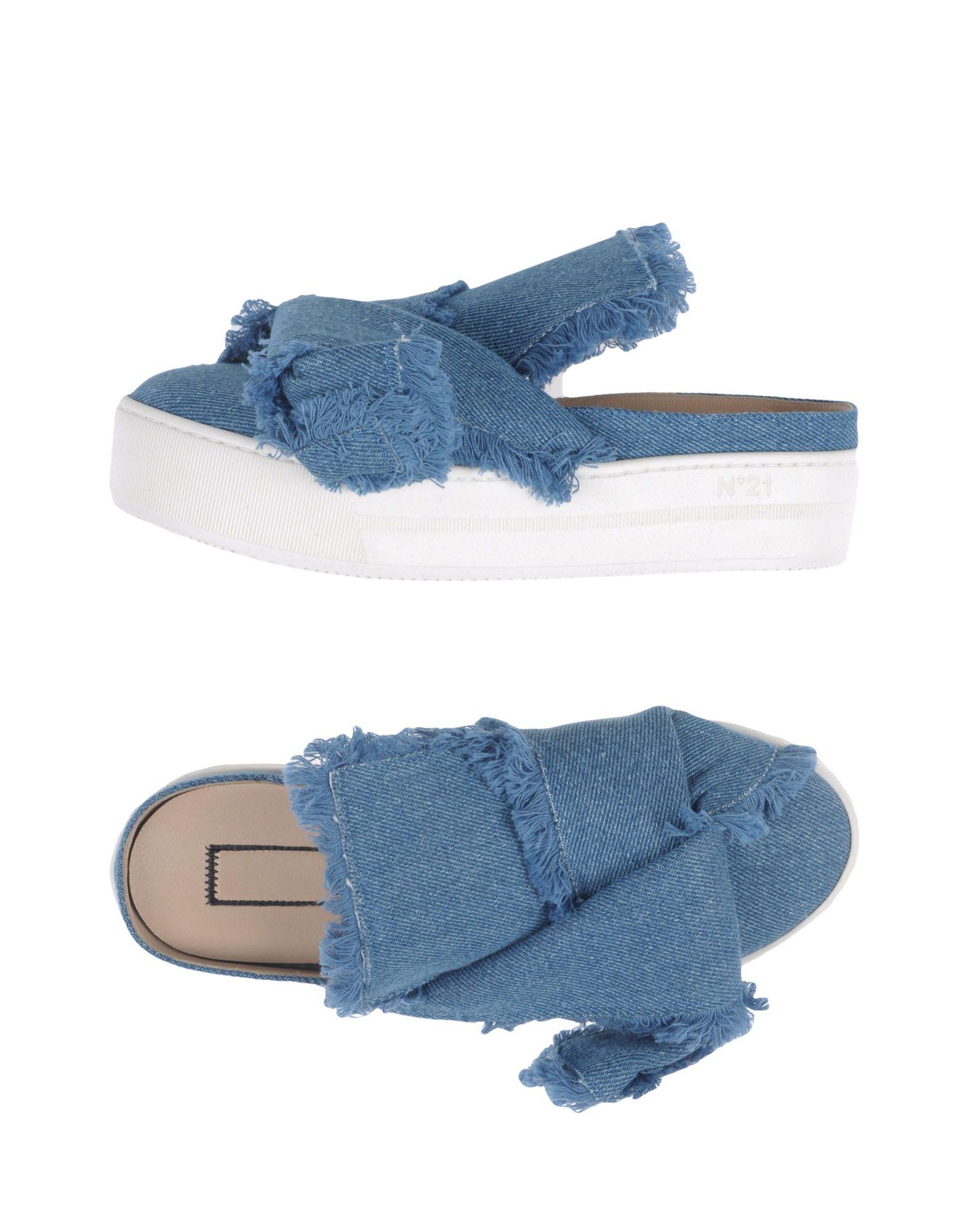 Stilvolle billige Schuhe N° 21 Pantoletten Damen  11388289ET