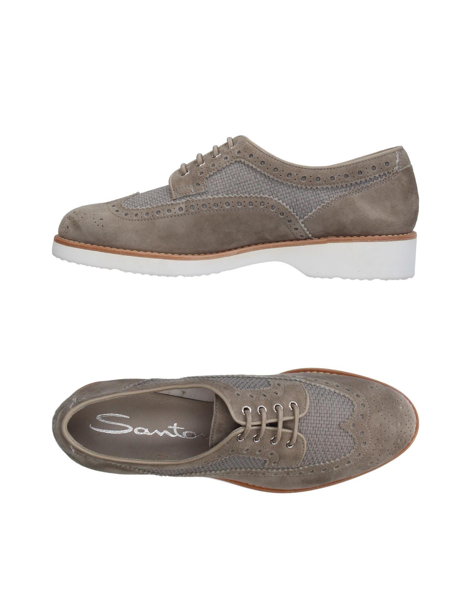 Stilvolle billige Schuhe Santoni Schnürschuhe Damen  11388333AA