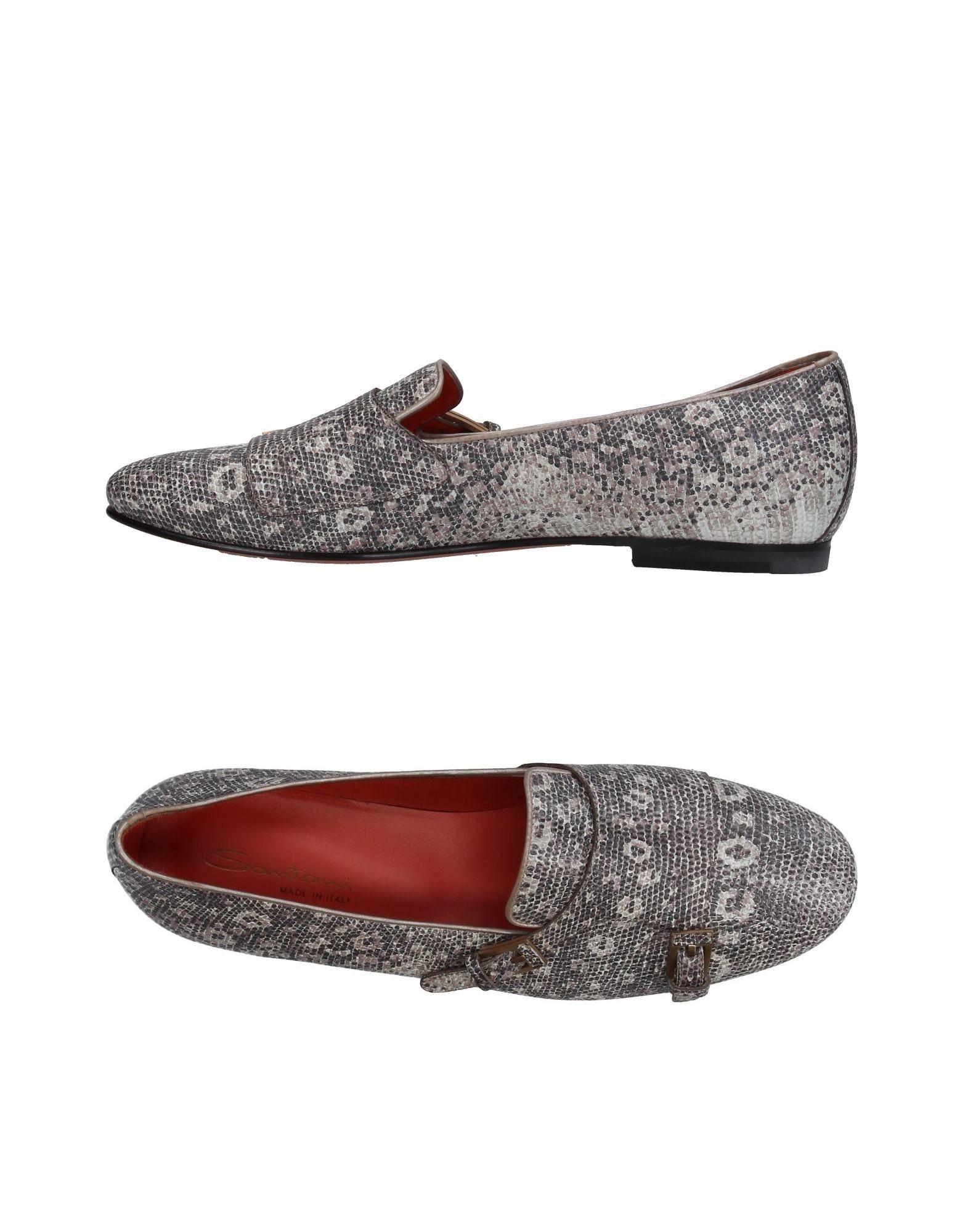 Rabatt Schuhe Santoni Mokassins Damen  11388424VS