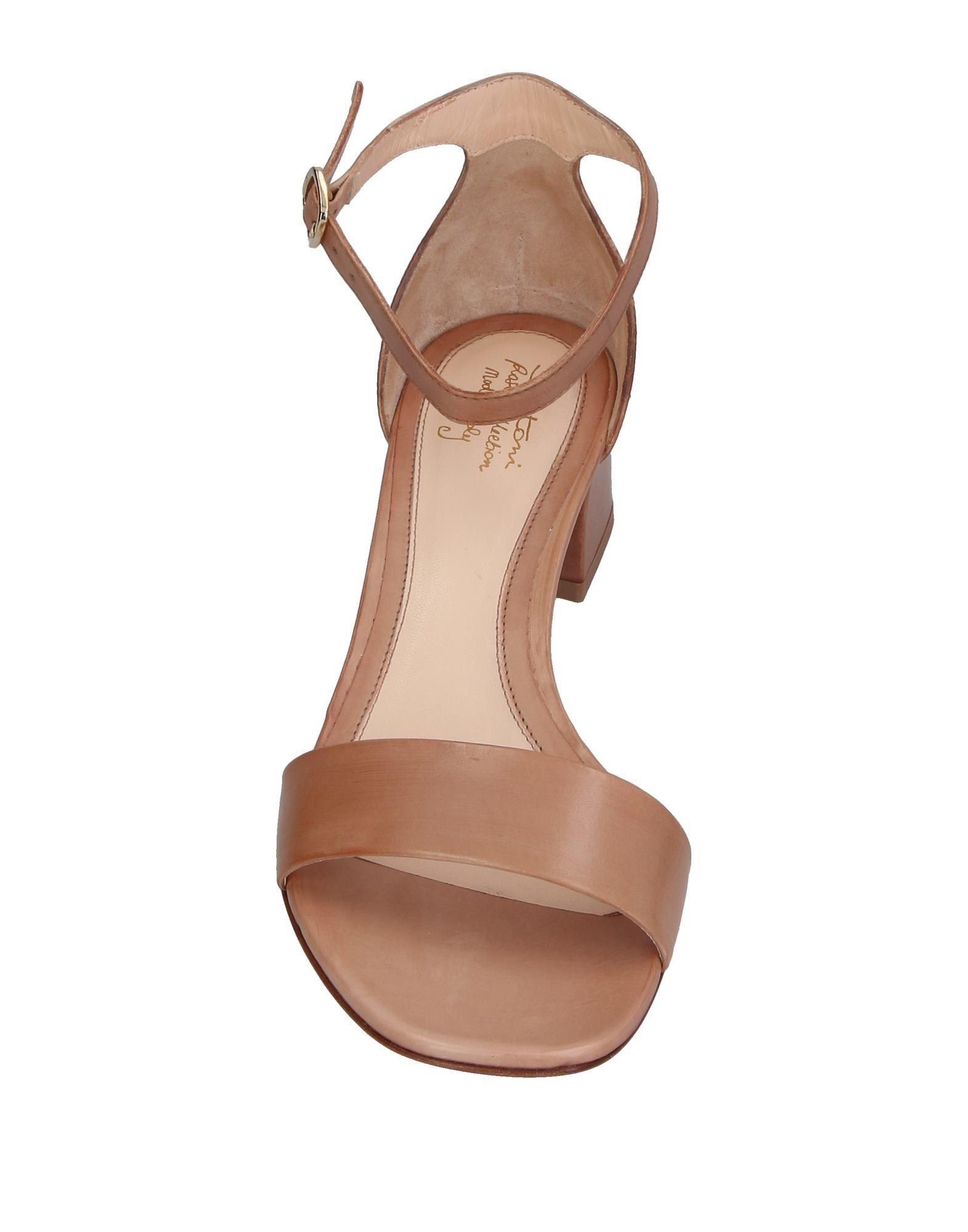 Haltbare Mode billige Schuhe Santoni Sandalen Damen  11388531MT Heiße Schuhe