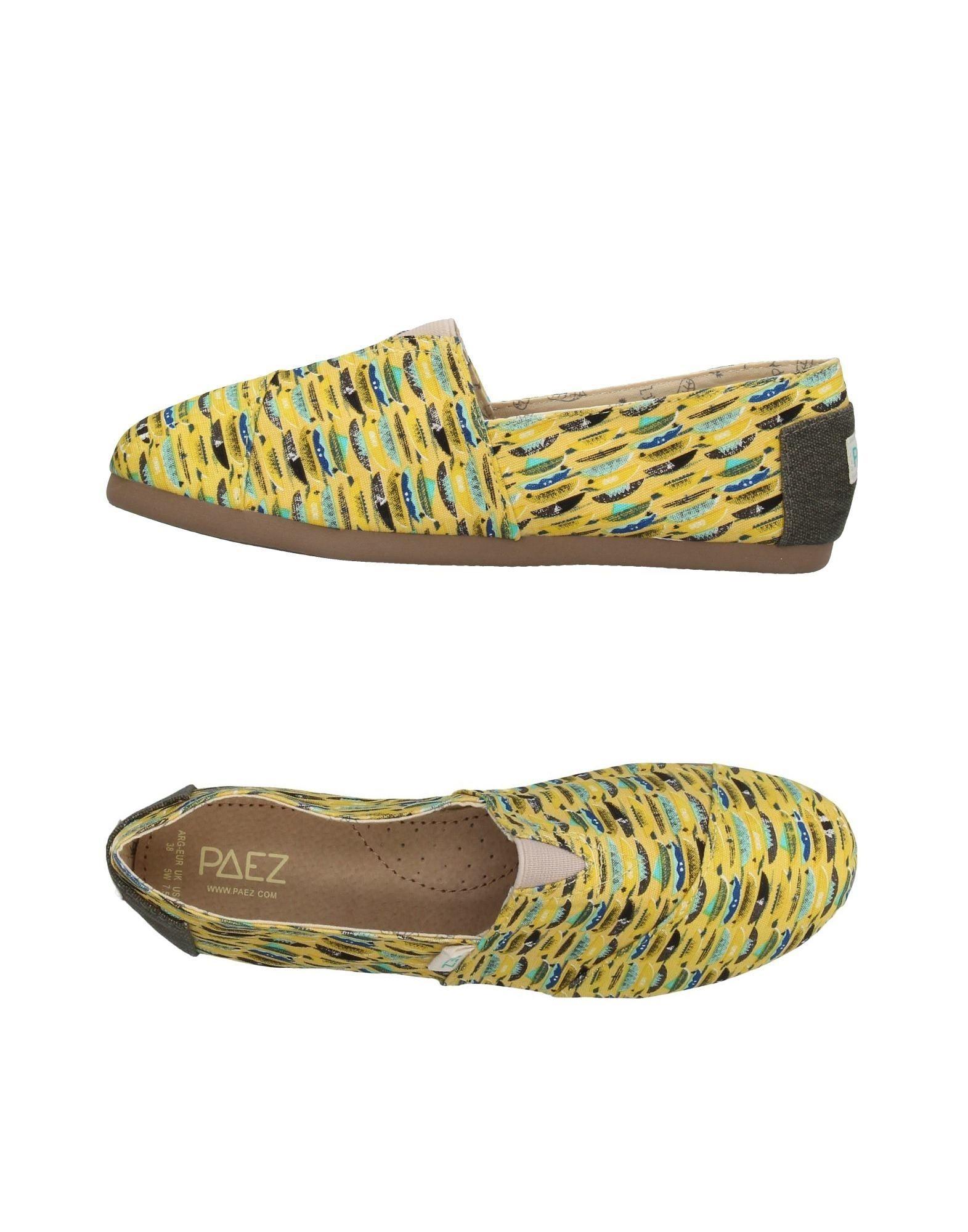 Sandali gialli per donna Paez  En Venta Baúl Manchester Aclaramiento Precio Bajo Para La Venta Footlocker Precio Barato Finishline o1QU6n7Hc