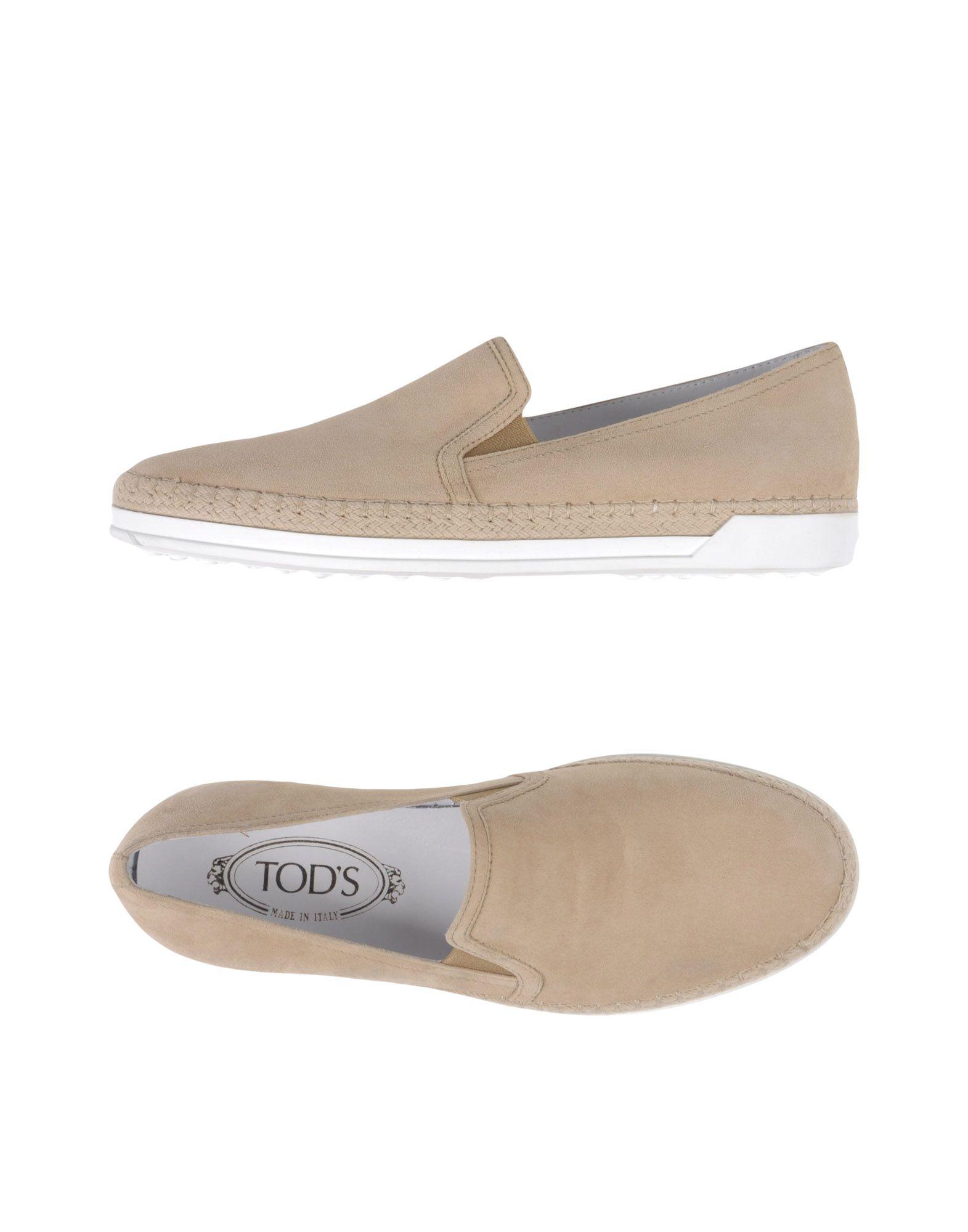 Tod's Espadrilles 11390831CHGut Damen  11390831CHGut Espadrilles aussehende strapazierfähige Schuhe 415c83