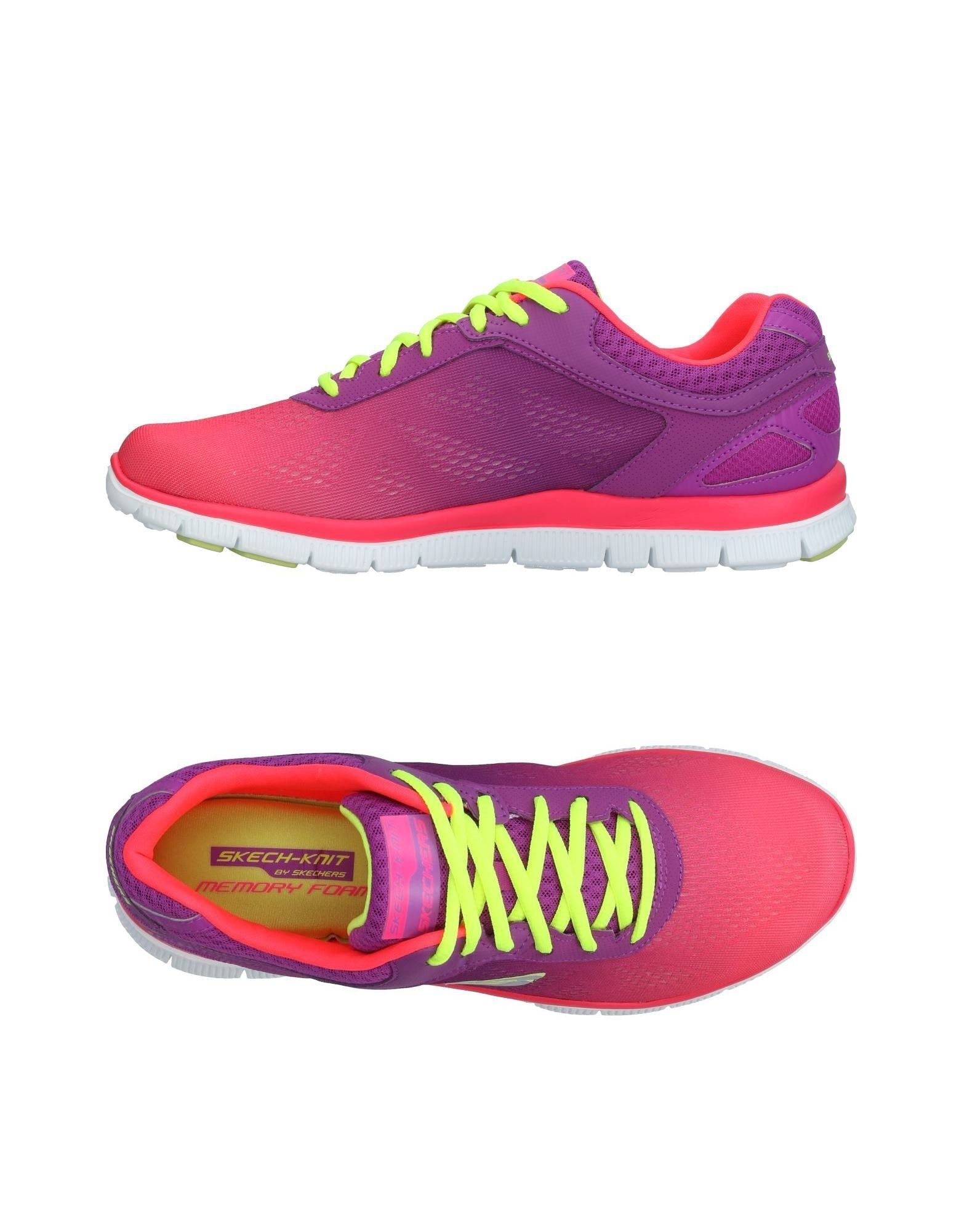 Baskets Skechers Femme - Baskets Skechers Violet clair Chaussures casual sauvages