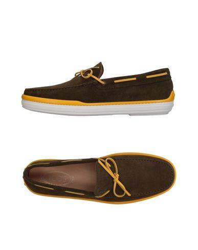 Zapatos Tod's con descuento Mocasín Tod's Zapatos Hombre - Mocasines Tod's - 11391359LW Verde militar 5aa551