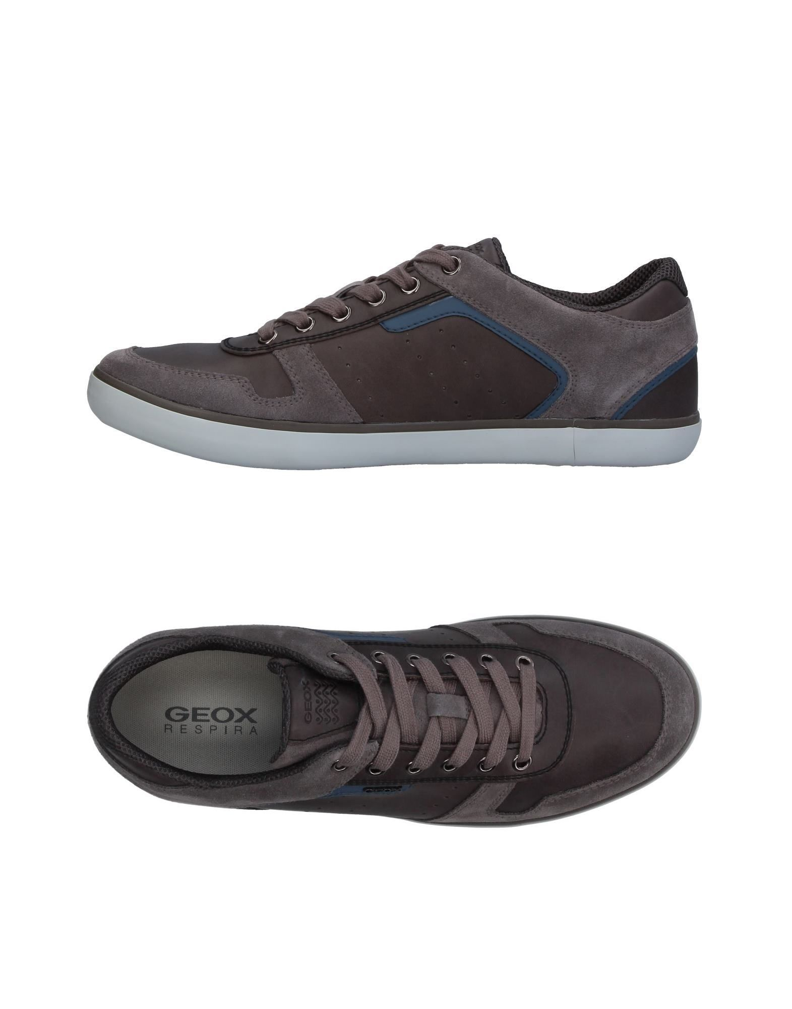 Sneakers Geox Homme - Sneakers Geox  Plomb Mode pas cher et belle