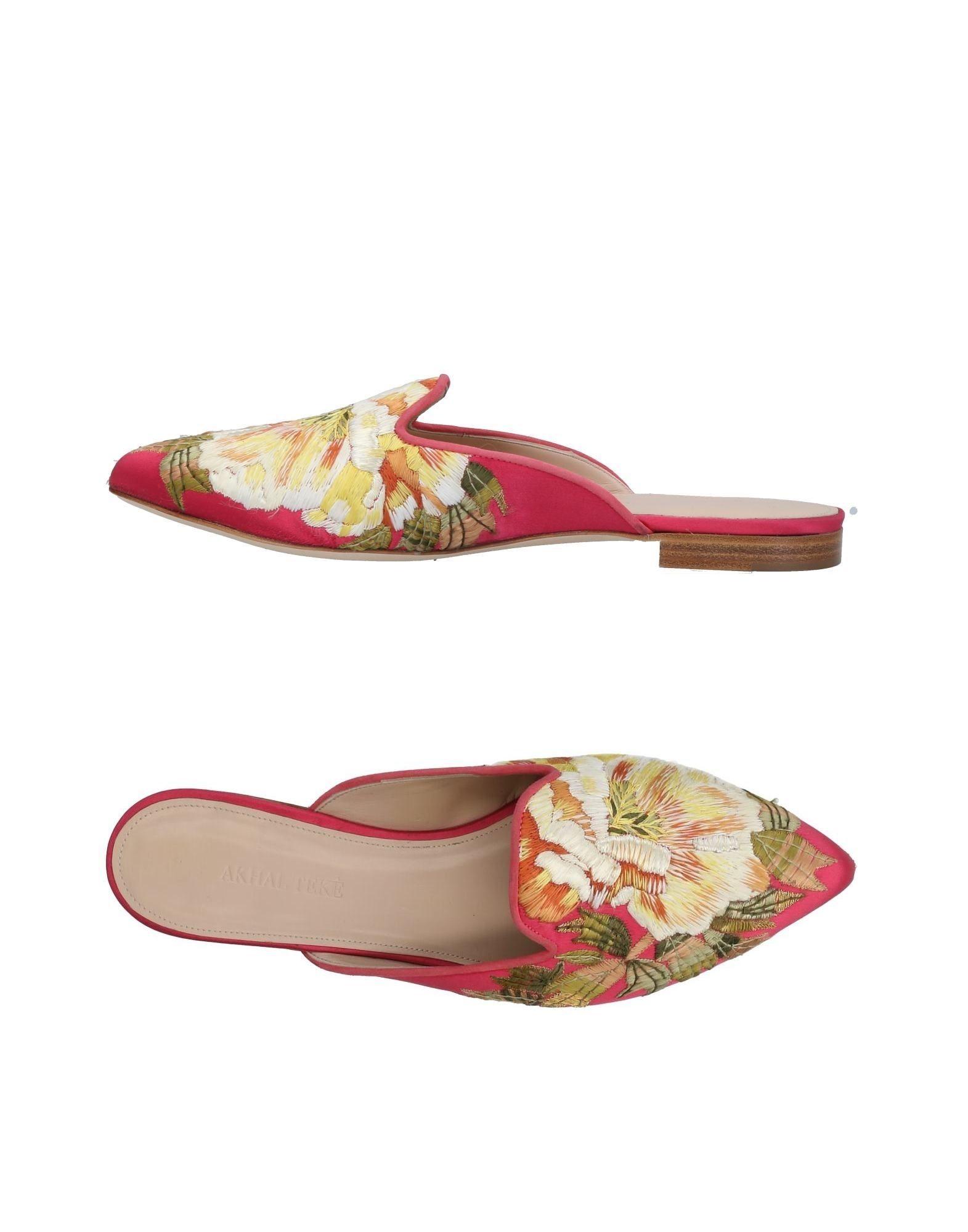 Stilvolle billige Schuhe Akhal Tekè Pantoletten Damen  11391535AA