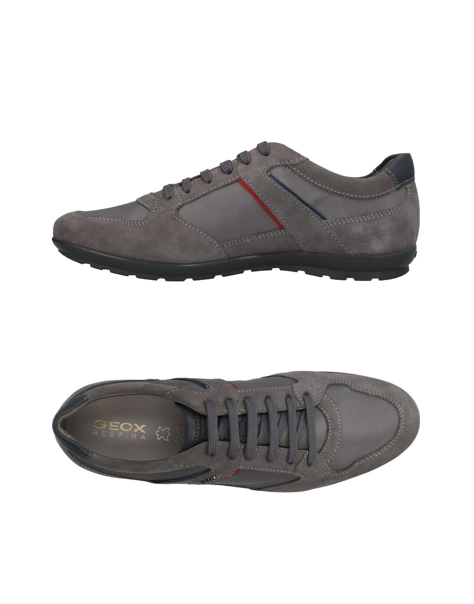 Sneakers Geox Homme - Sneakers Geox  Gris Réduction de prix saisonnier, remise