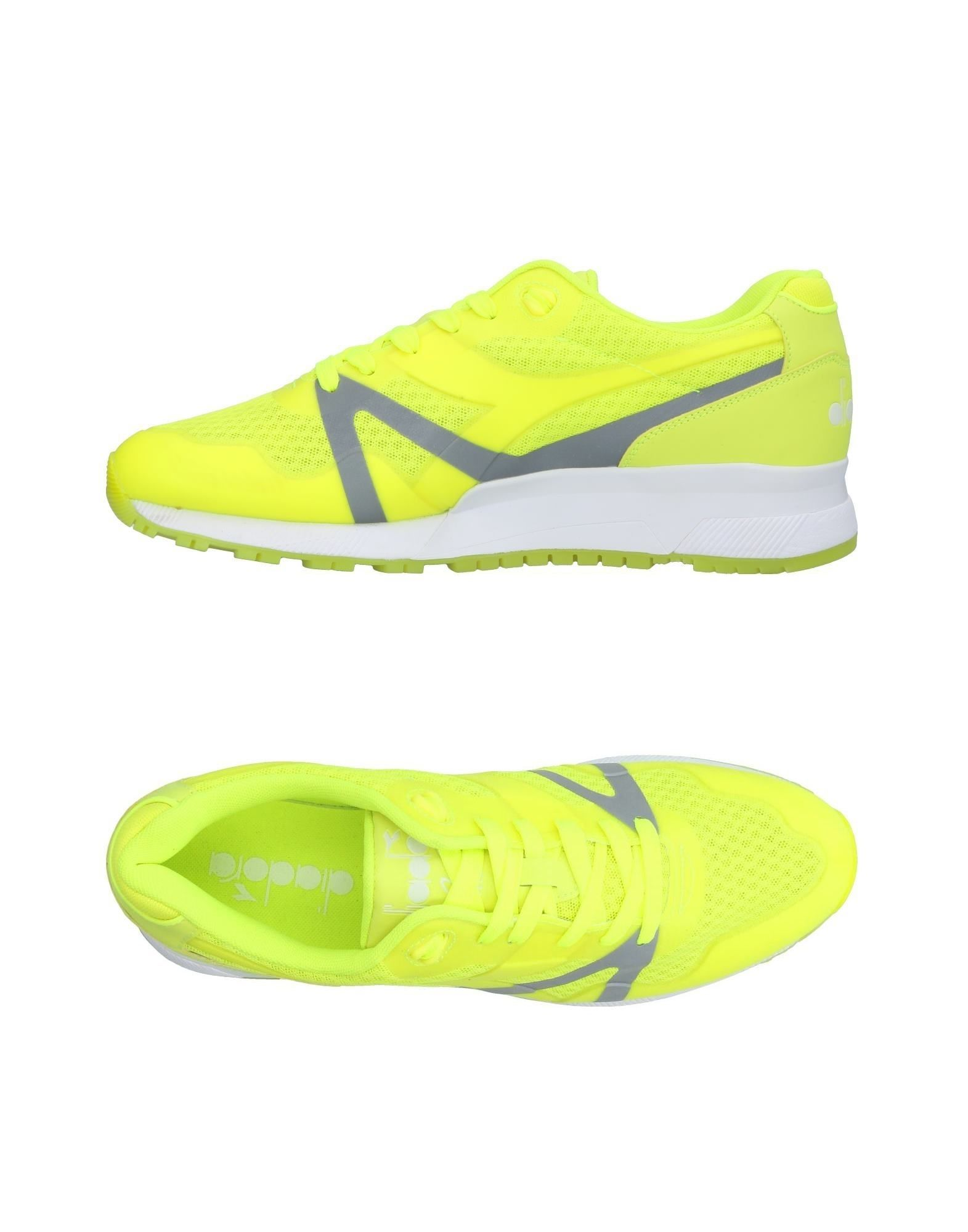 Zapatillas Amarillo Diadora Hombre - Zapatillas Diadora  Amarillo Zapatillas 37e3a0