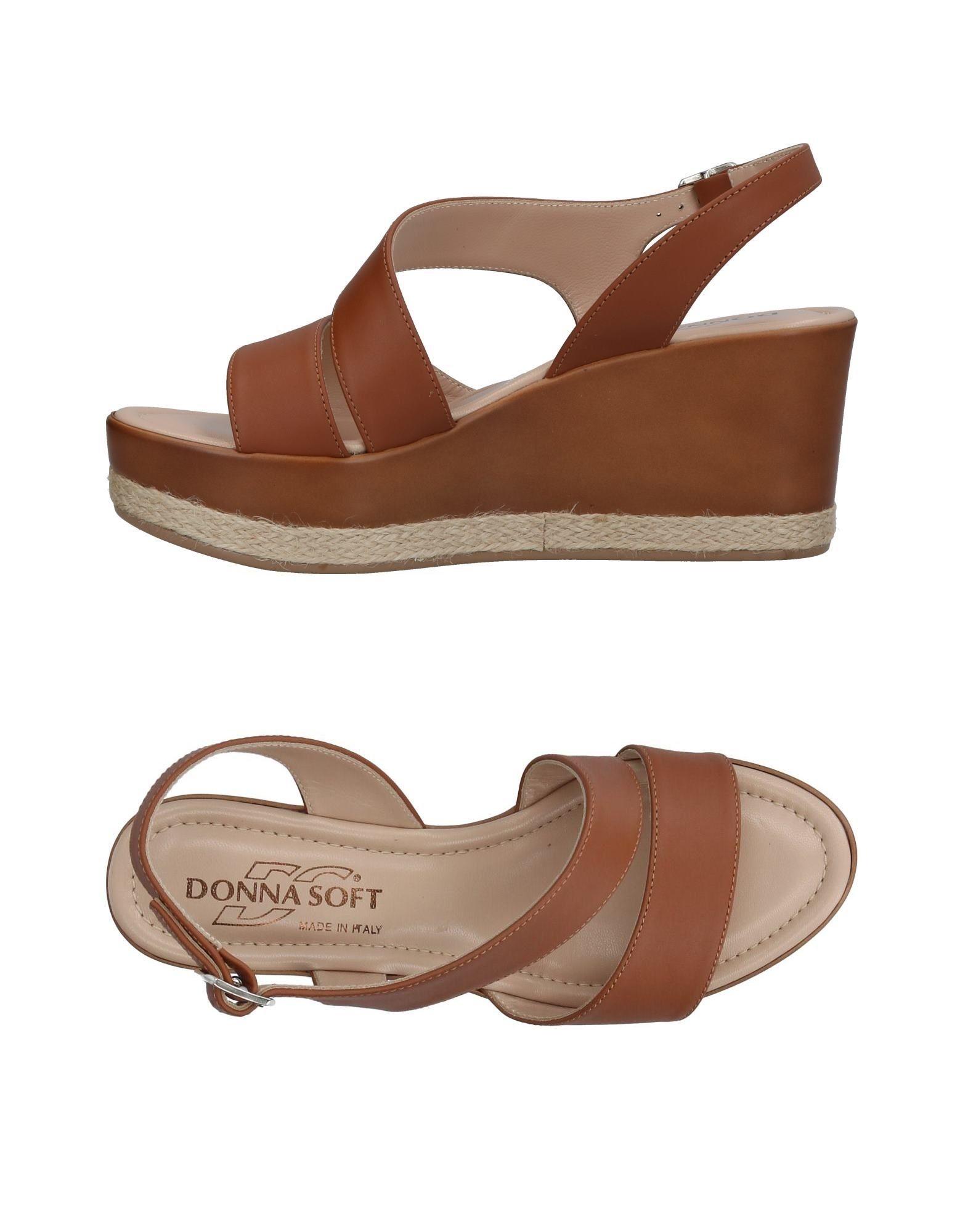 Donna Soft Sandalen Damen  11392389IA Gute Qualität beliebte Schuhe