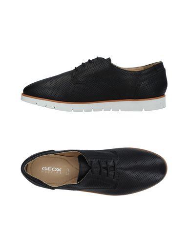 fe688970 Zapato De Cordones Geox Mujer - Zapatos De Cordones Geox - 11392414RQ Negro Nuevo  descuento ...