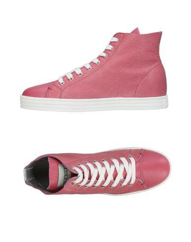 HOGAN REBEL Sneakers Pastel pink Women