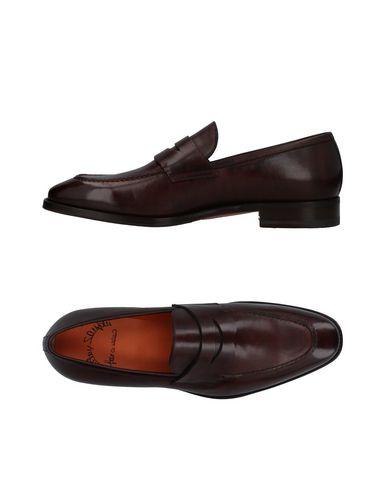 Zapatos con descuento Mocasín Santoni Hombre - Mocasines Santoni - 11392757DW Café