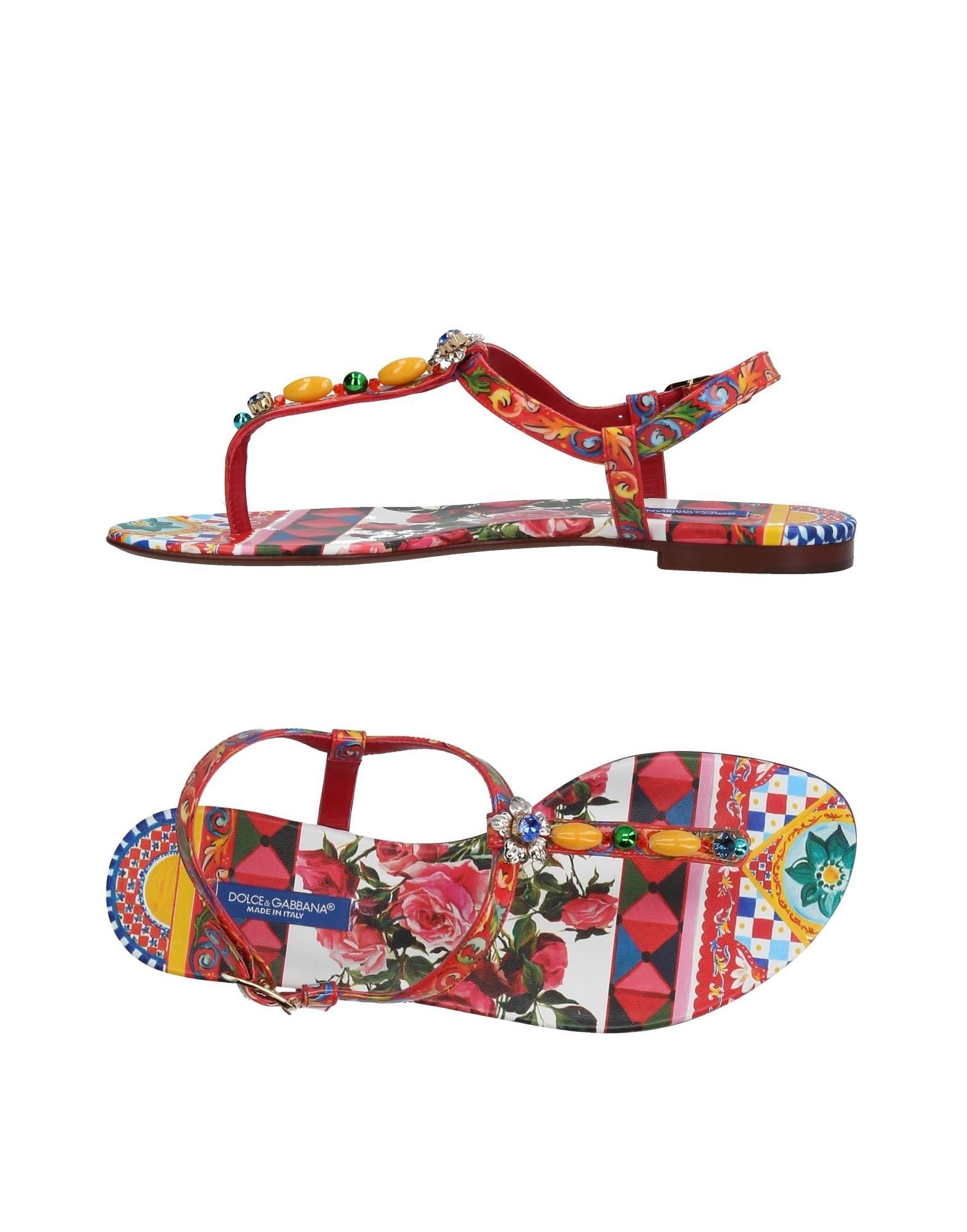 Dolce & Gabbana Dianetten Damen  11393071VGGünstige gut aussehende Schuhe