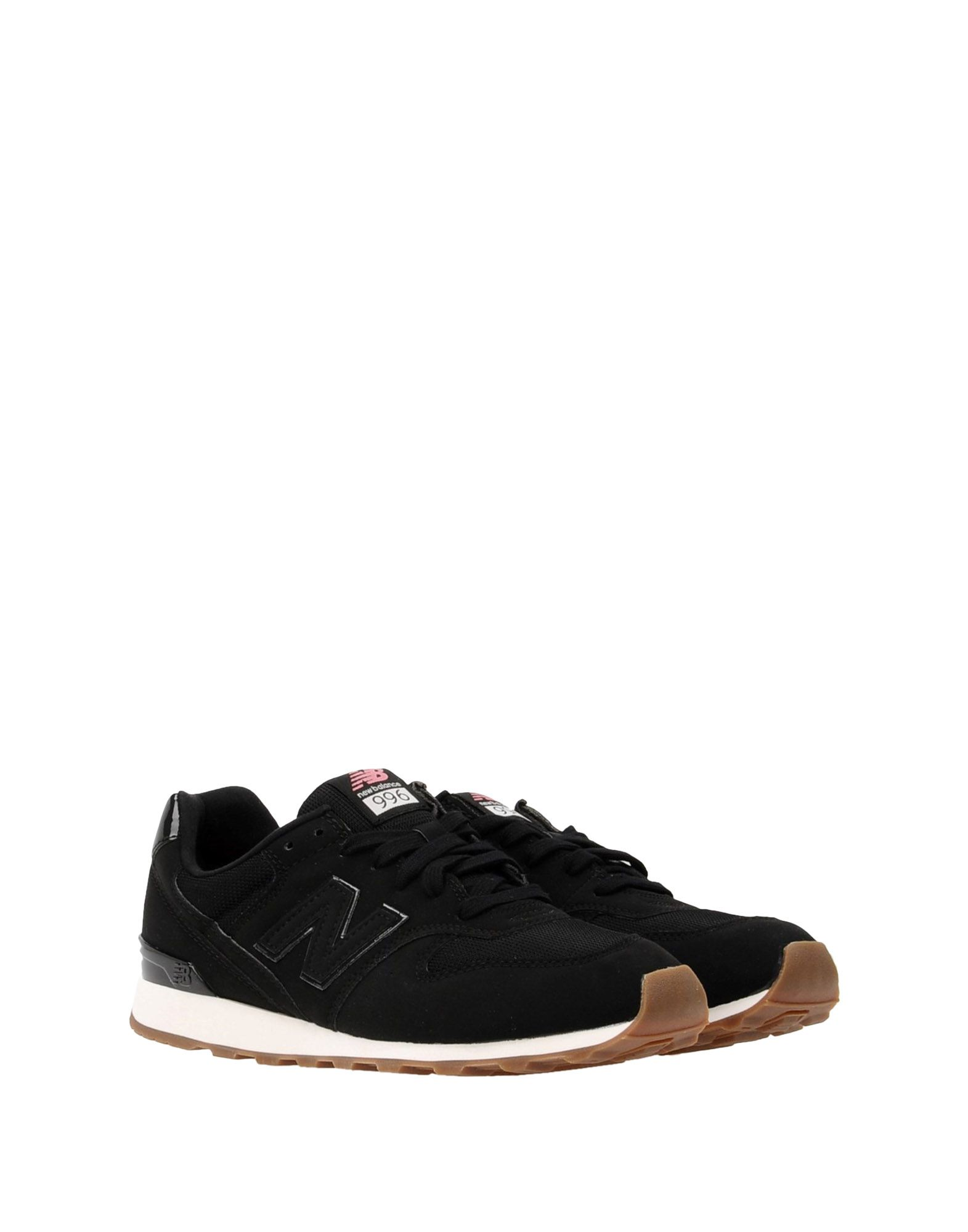 Sneakers New Balance 996 Synthetic Nubuck Patent Details - Femme - Sneakers New Balance sur