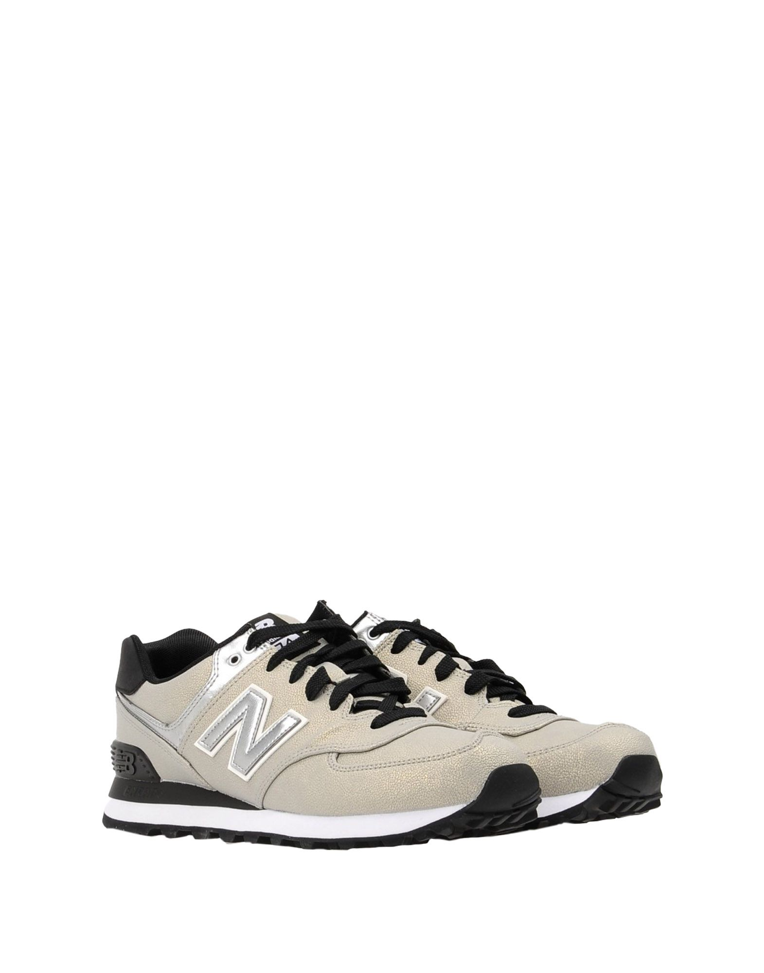Sneakers New Balance 574 Synthetic Shiny Leather - Femme - Sneakers New Balance sur