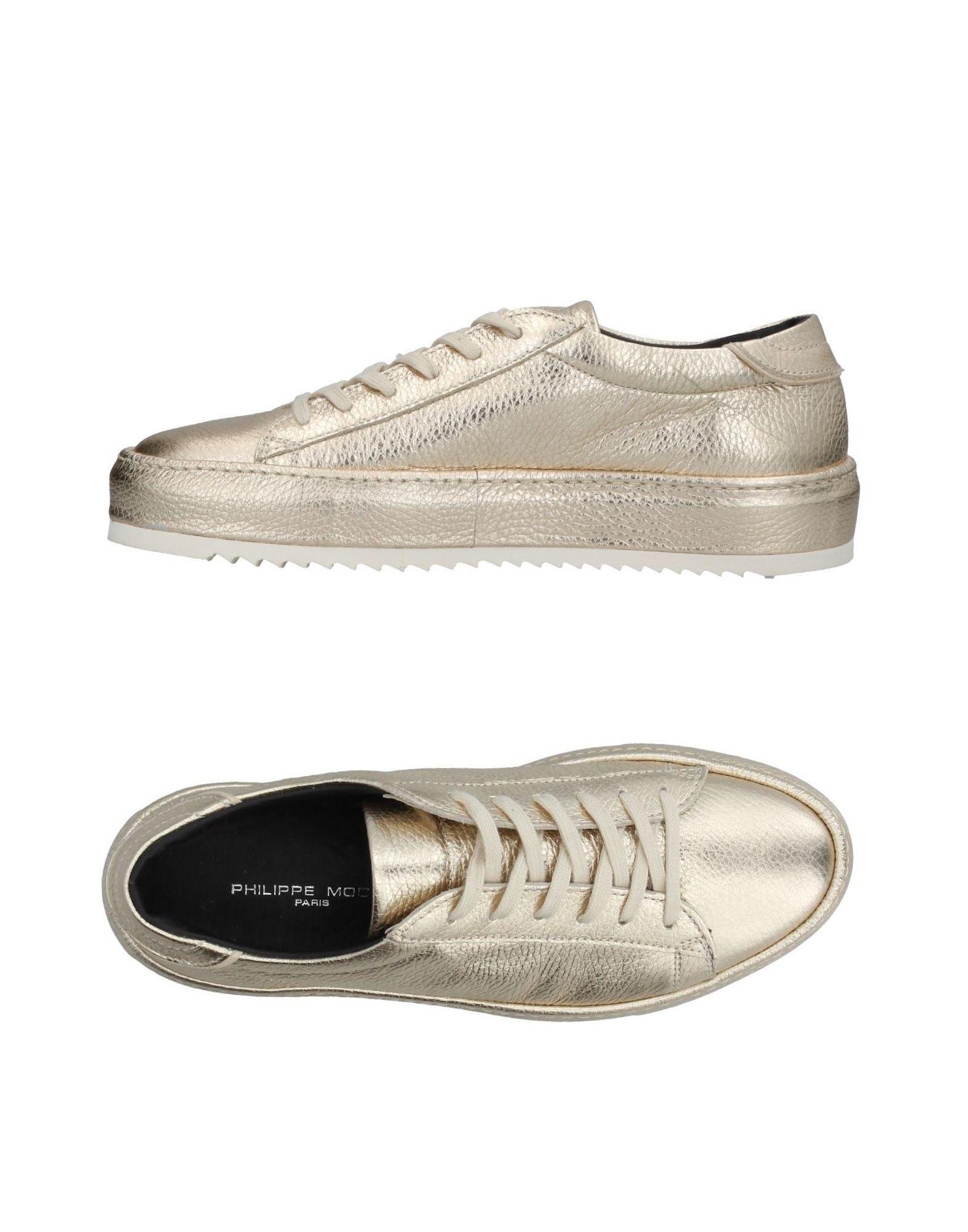 Rabatt Schuhe Philippe Model Sneakers Damen  11393127BP
