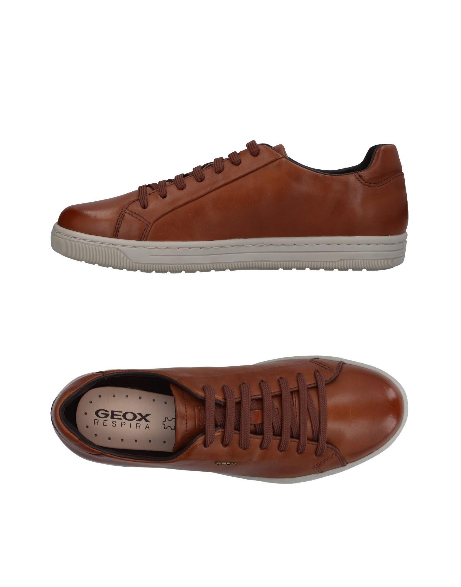 Sneakers Geox Homme - Sneakers Geox  Noir Dernières chaussures discount pour hommes et femmes