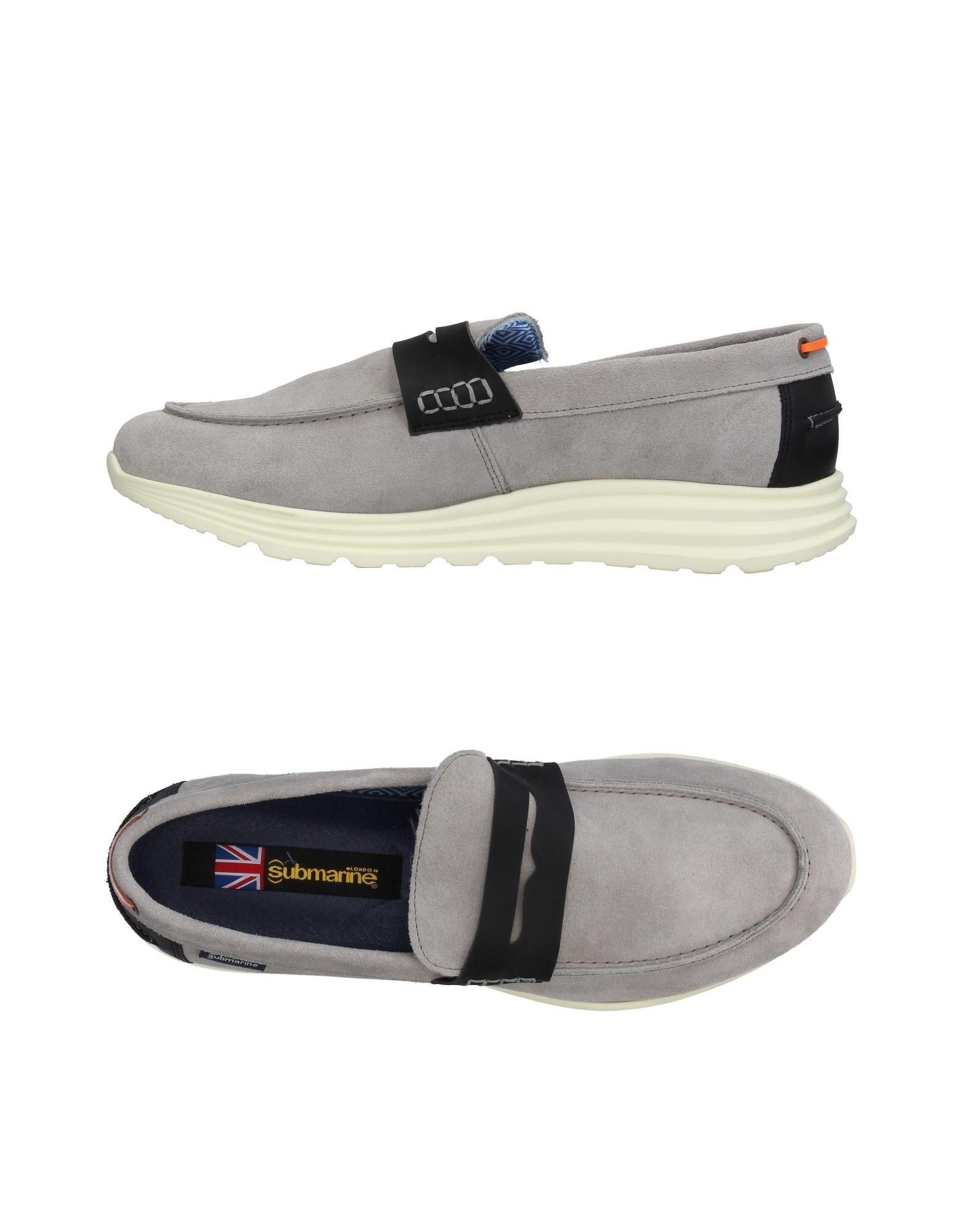 Rabatt echte Schuhe Submarine Mokassins Herren  11393742ML