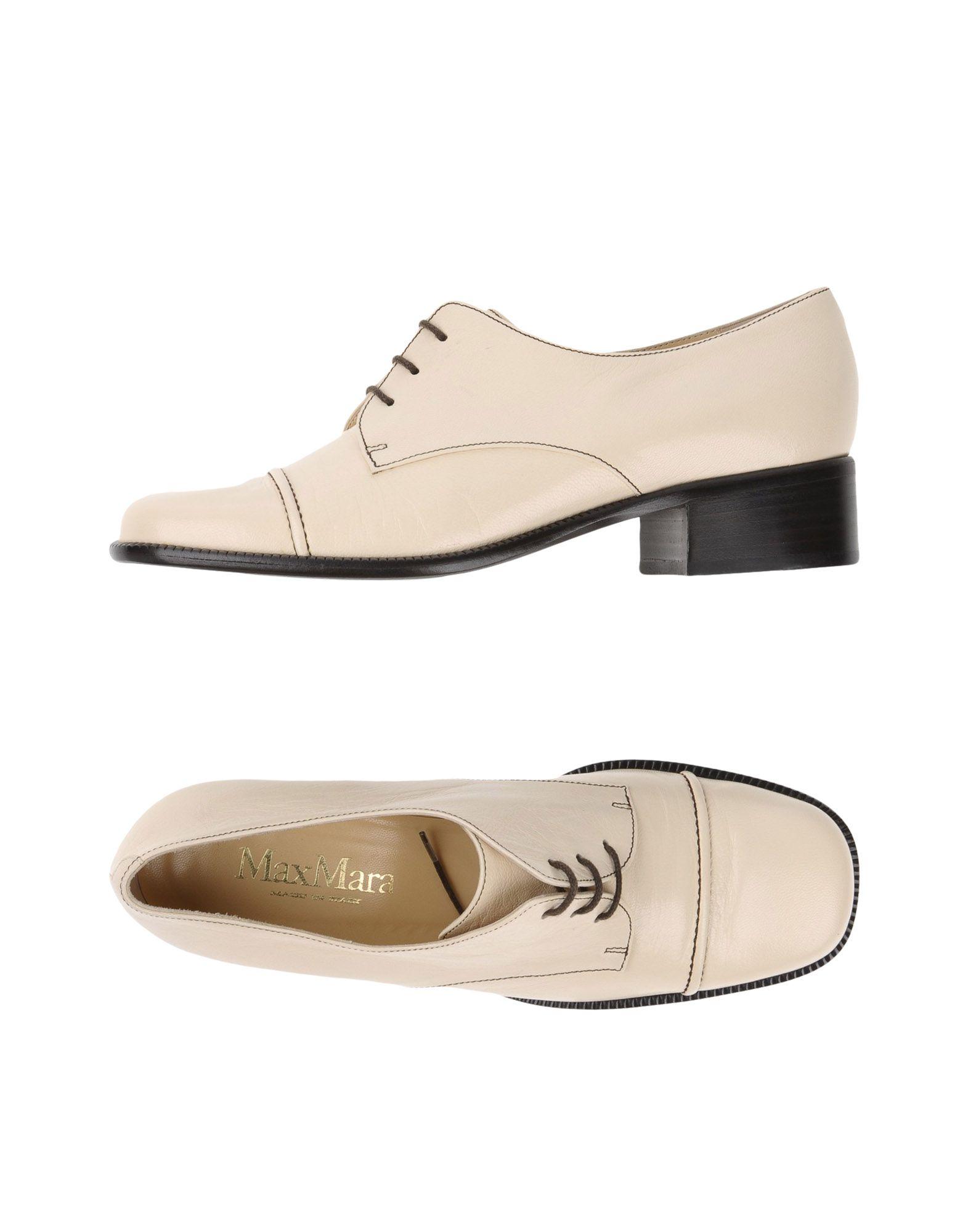 Chaussures À Lacets Max Mara Femme - Chaussures À Lacets Max Mara sur