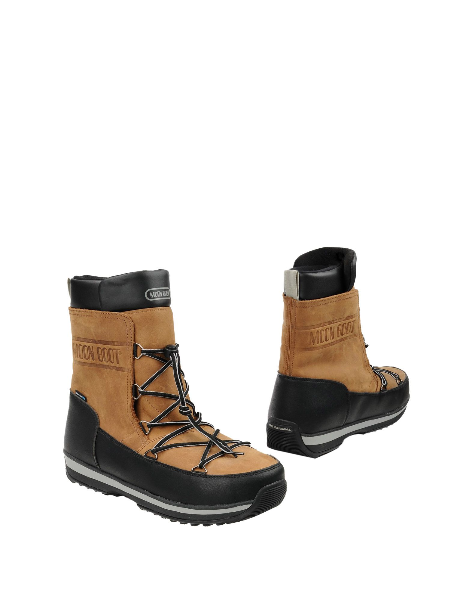 Stivaletti Moon Boot  Lem Leather Wp - Uomo - Acquista online su