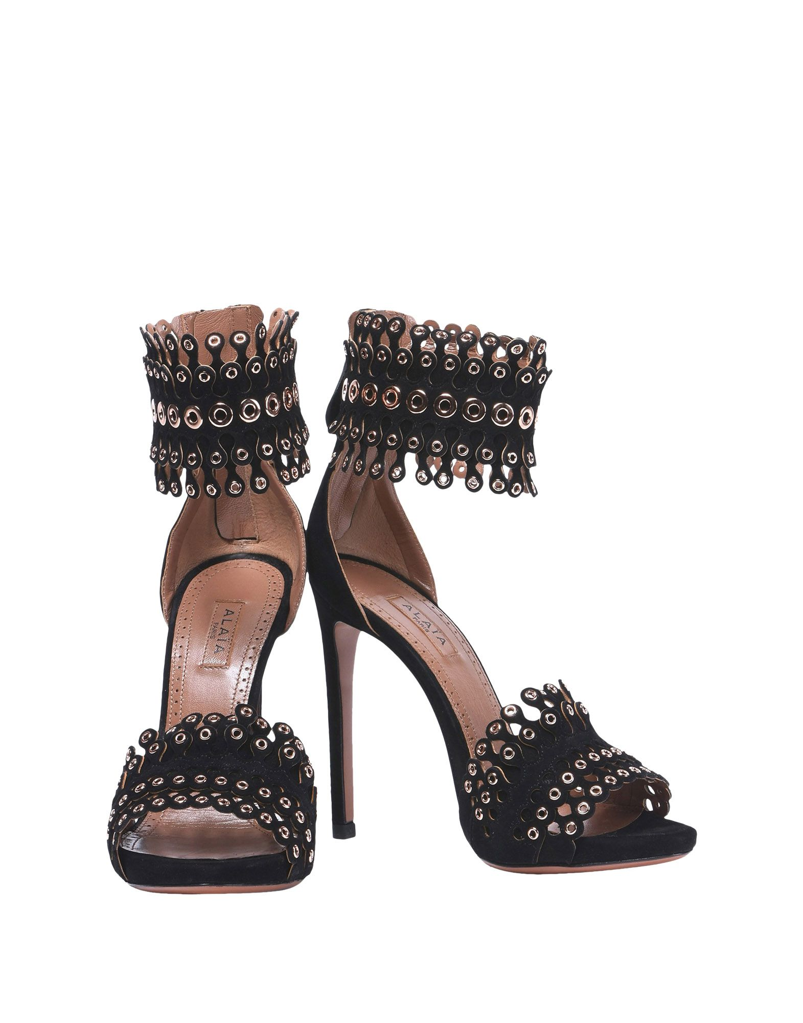 Alaïa Sandalen Damen Schuhe  11393980AEGünstige gut aussehende Schuhe Damen 52775e