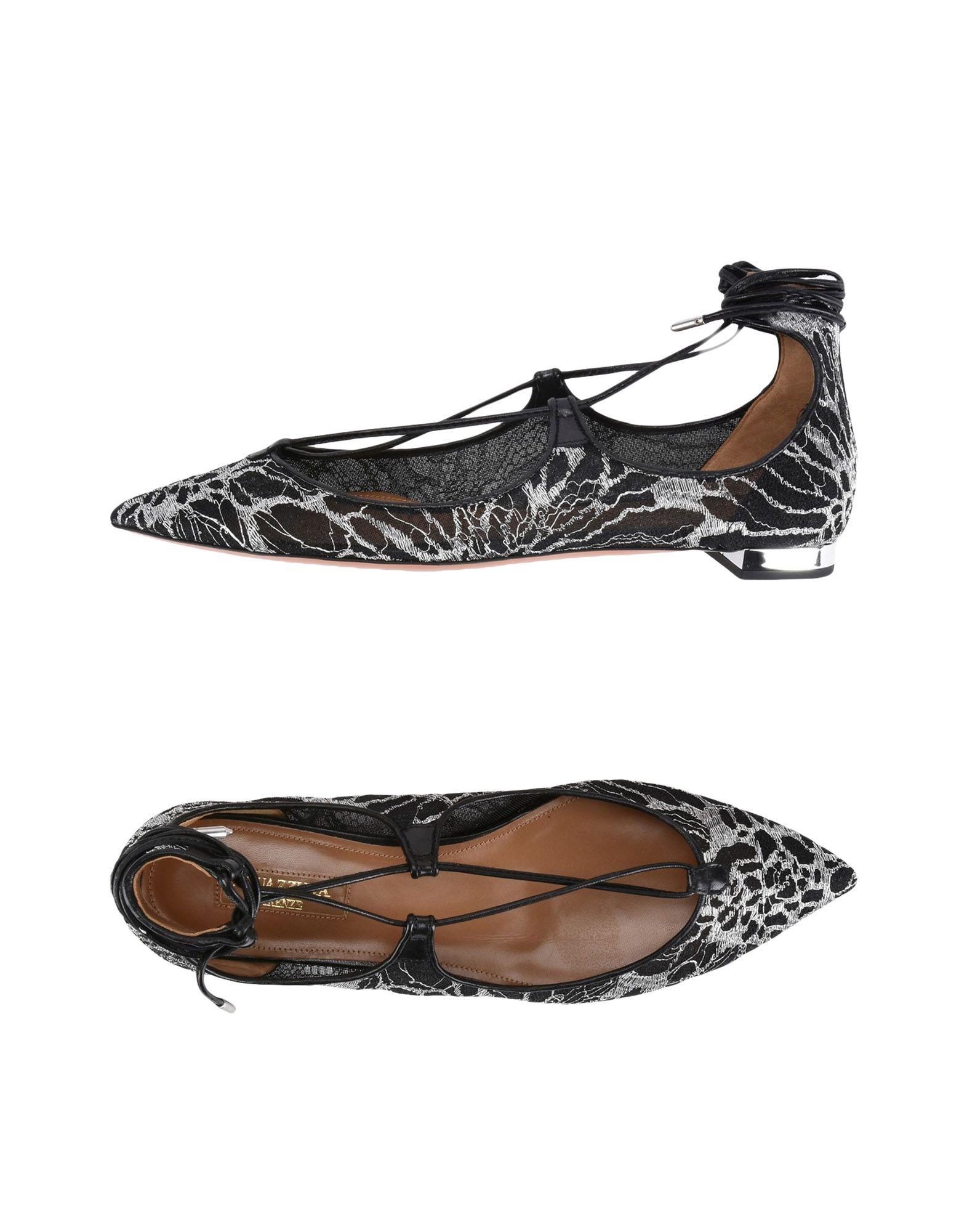 Haltbare Mode billige Schuhe Aquazzura Ballerinas Damen  11394116PE Heiße Schuhe