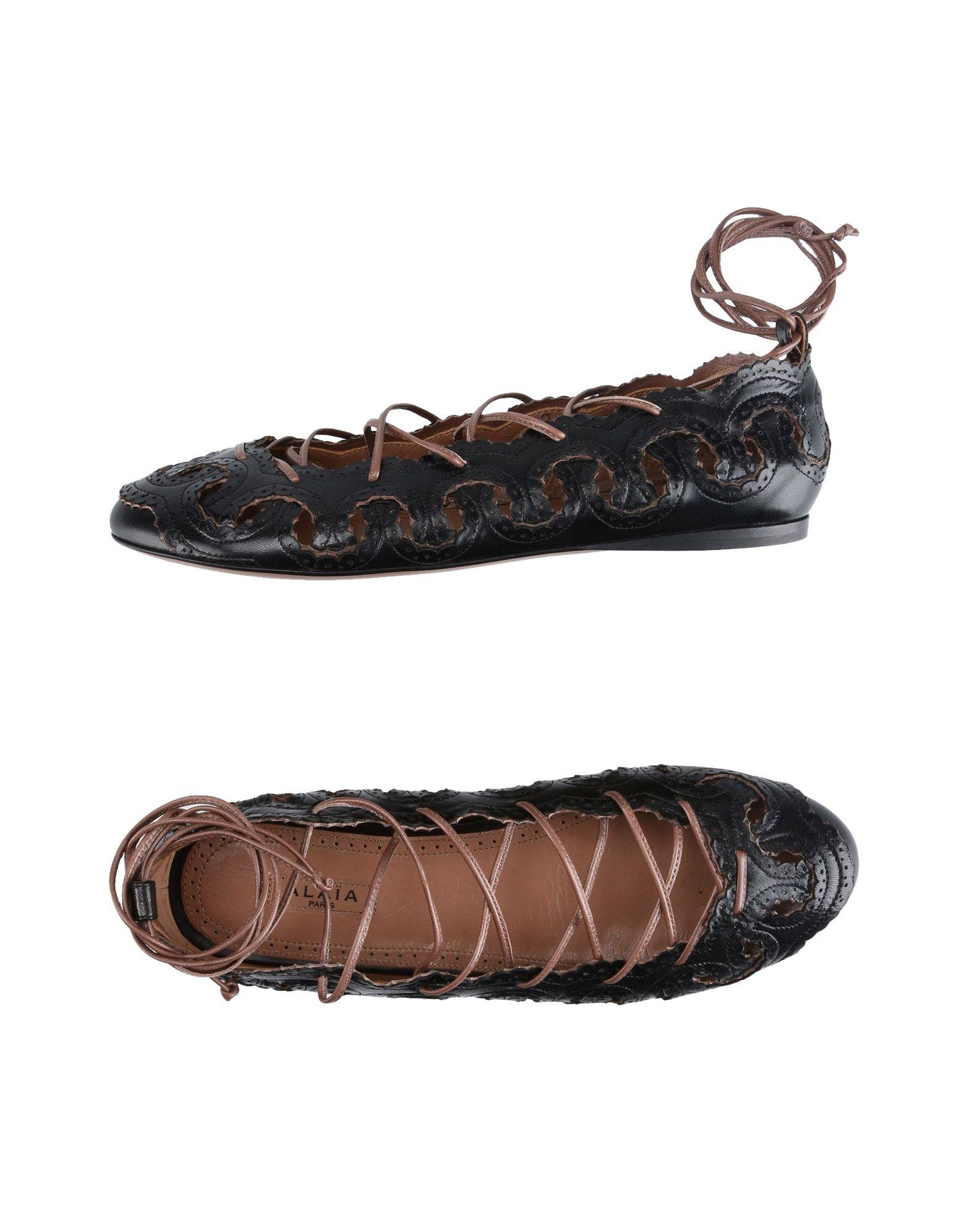 Rabatt Schuhe Alaïa Ballerinas Damen  11394397HT