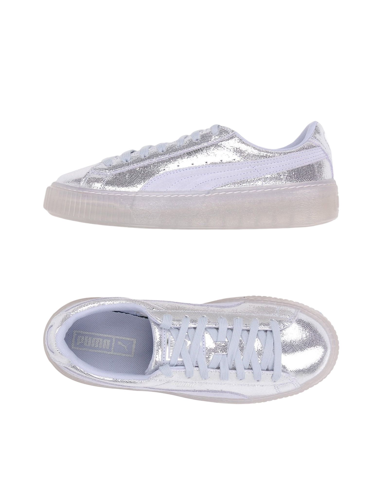 Baskets Puma Basket Platform Ns Wn's - Femme - Baskets Puma Argent Confortable et belle