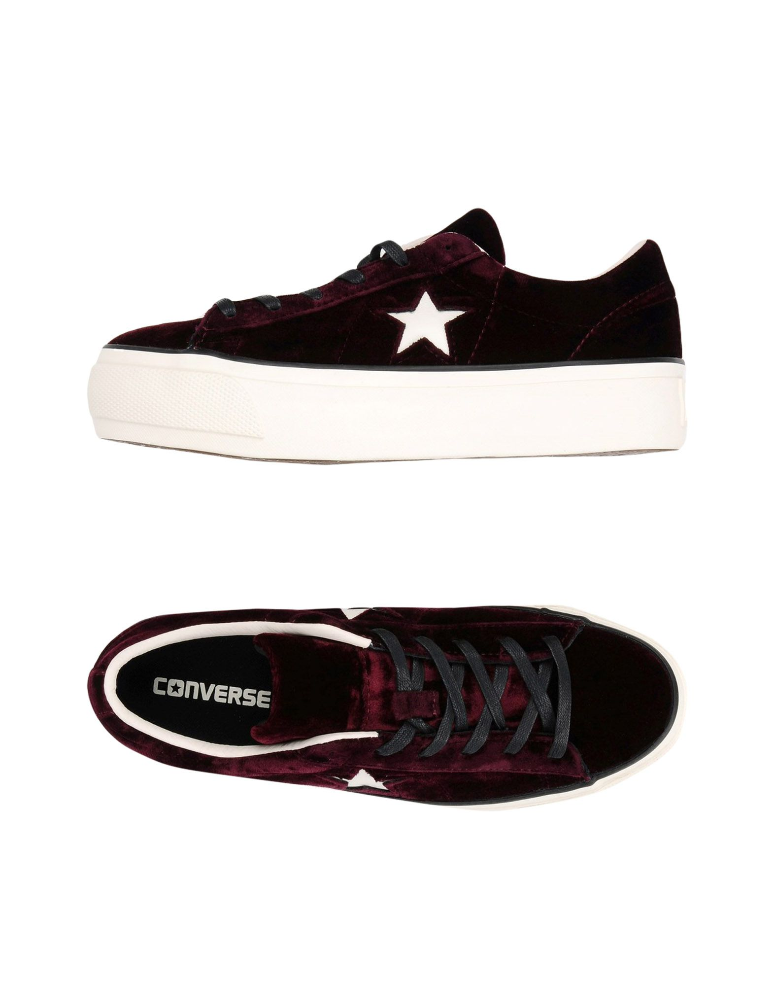 Sneakers Converse All Star One Star Platform Ox Velvet - Donna - 11394446MR