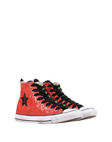Converse Limited Edition Ctas Hi Canvasleather Ltd Sneakers Donna Scarpe Rosso