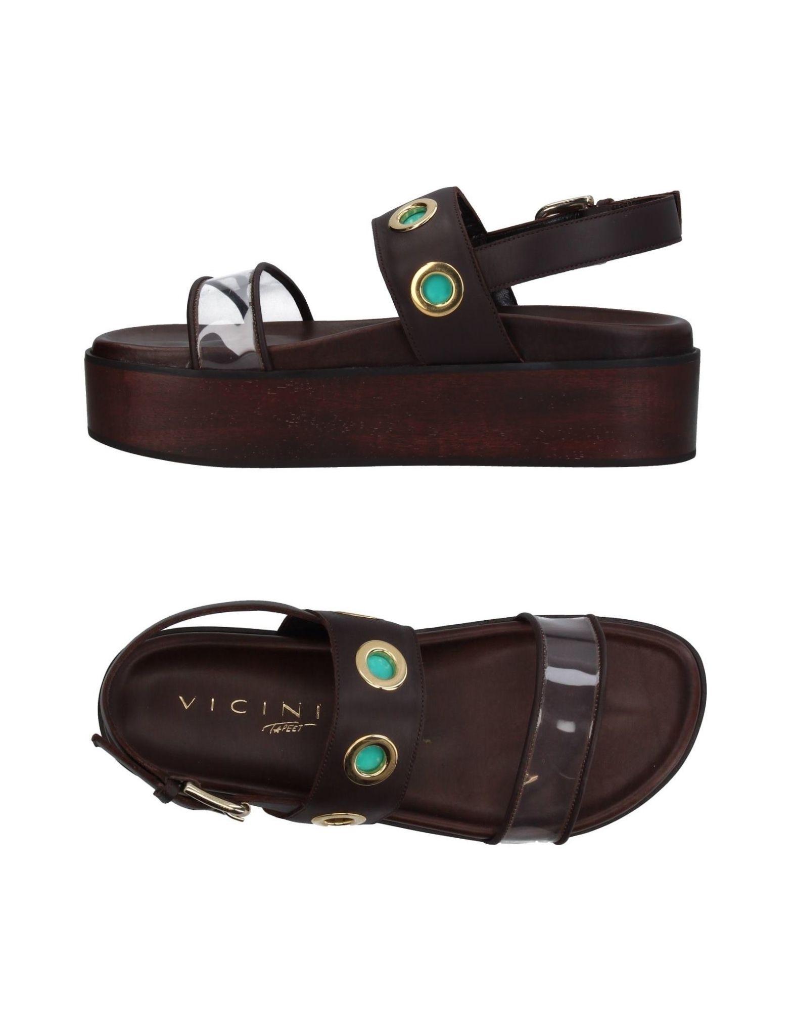 Gut um billige Schuhe zu tragenVicini Tapeet Sandalen Damen  11394754RN