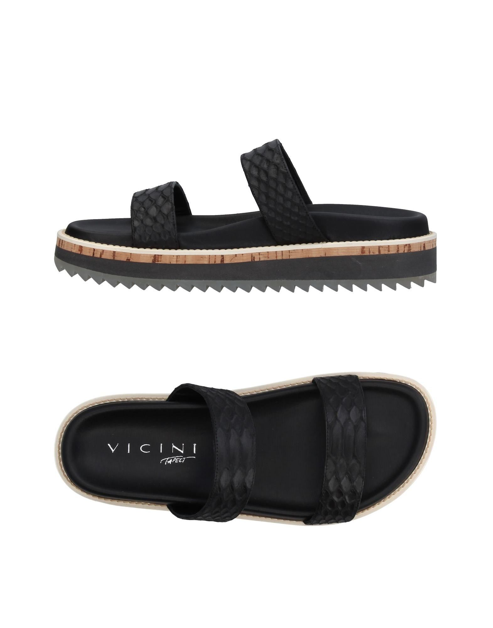 Stilvolle billige Schuhe Vicini Tapeet Sandalen Damen  11394758GQ