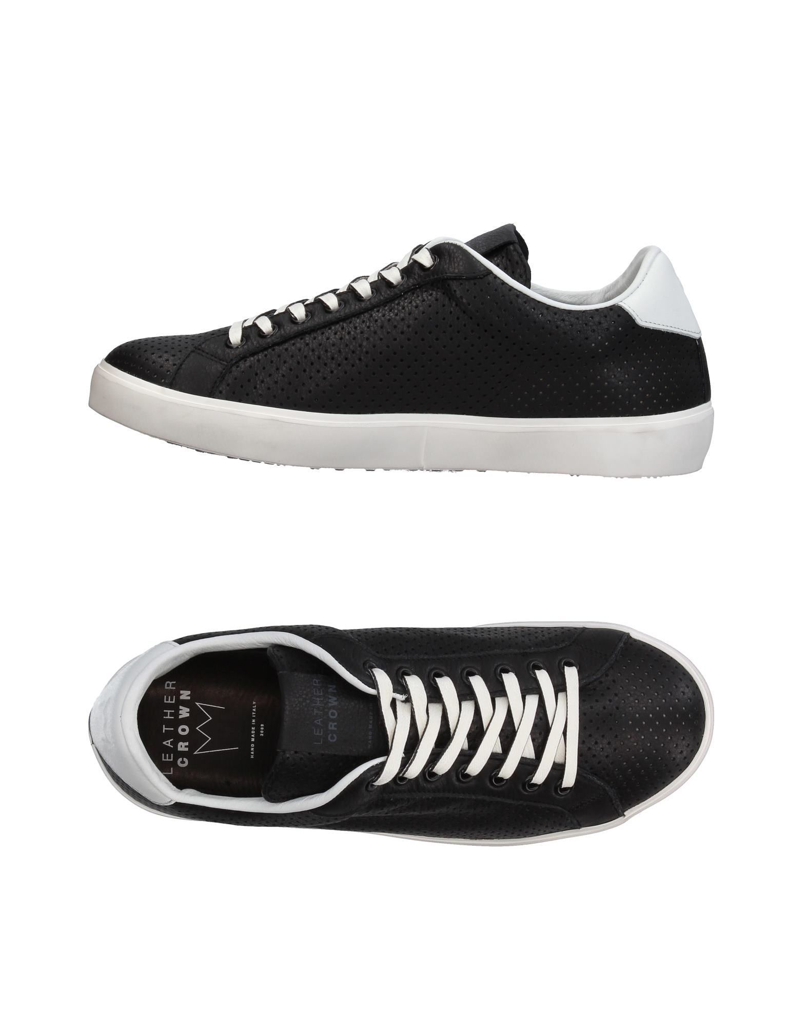 Sneakers Leather Crown Uomo - 11395064KW