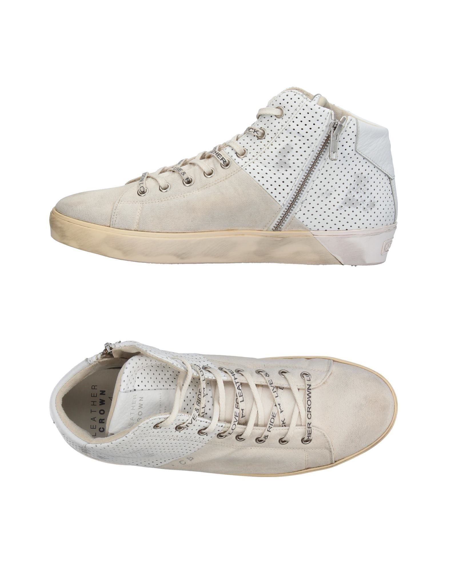 Sneakers Leather Crown Uomo - 11395099TV