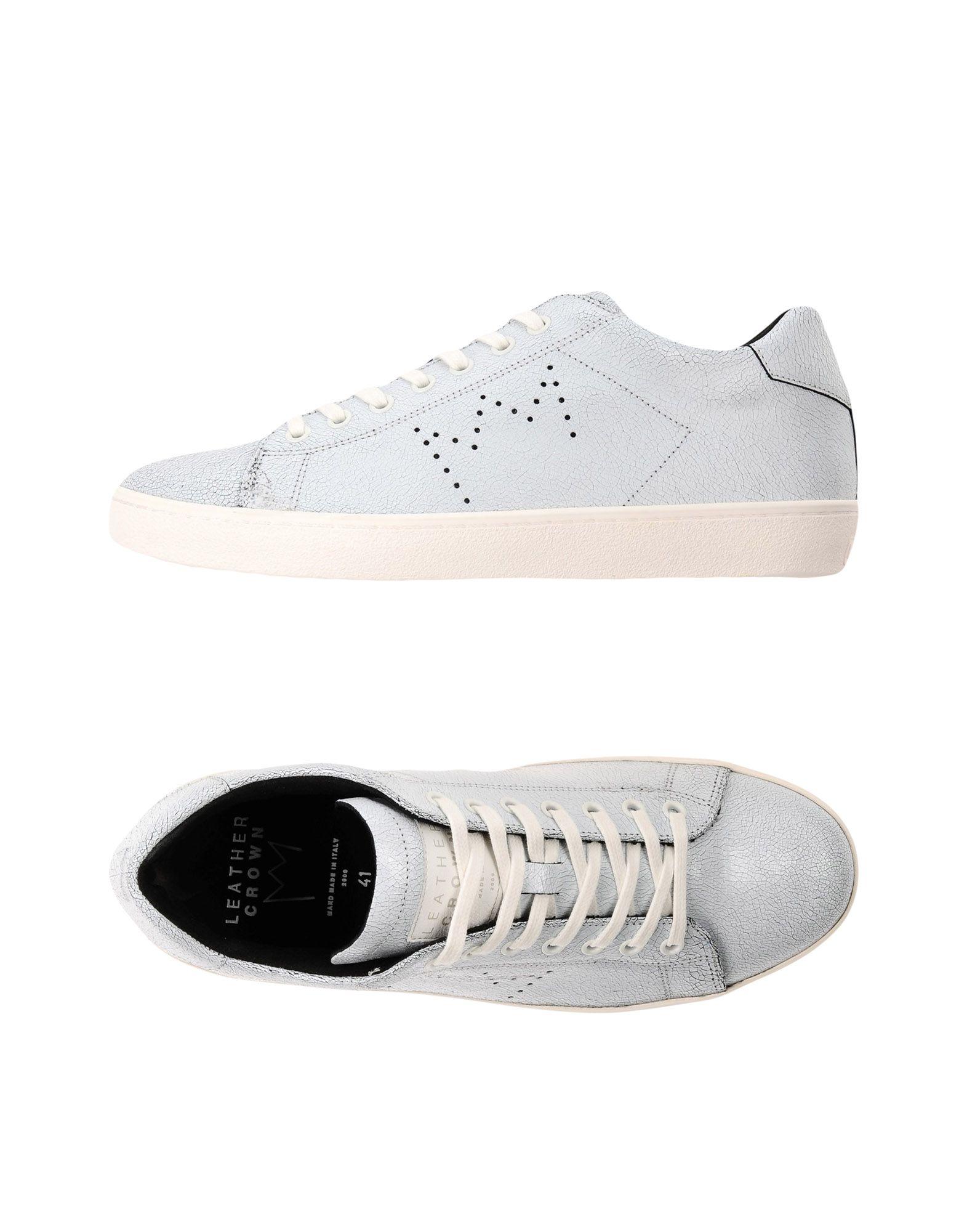 Rabatt echte Schuhe Leather 11395103AW Crown Sneakers Herren  11395103AW Leather 011ac6