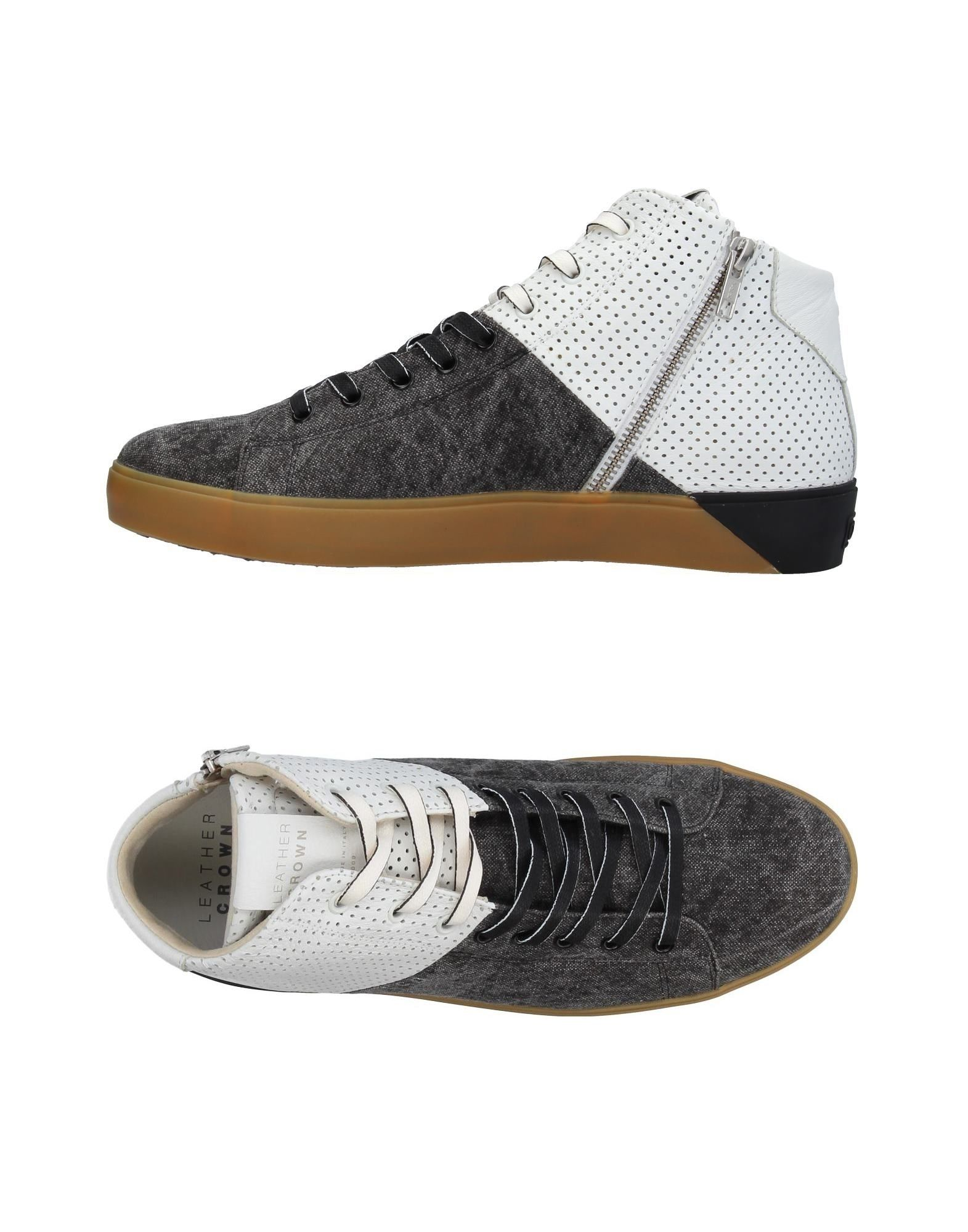 Sneakers Leather Crown Uomo - 11395105AB