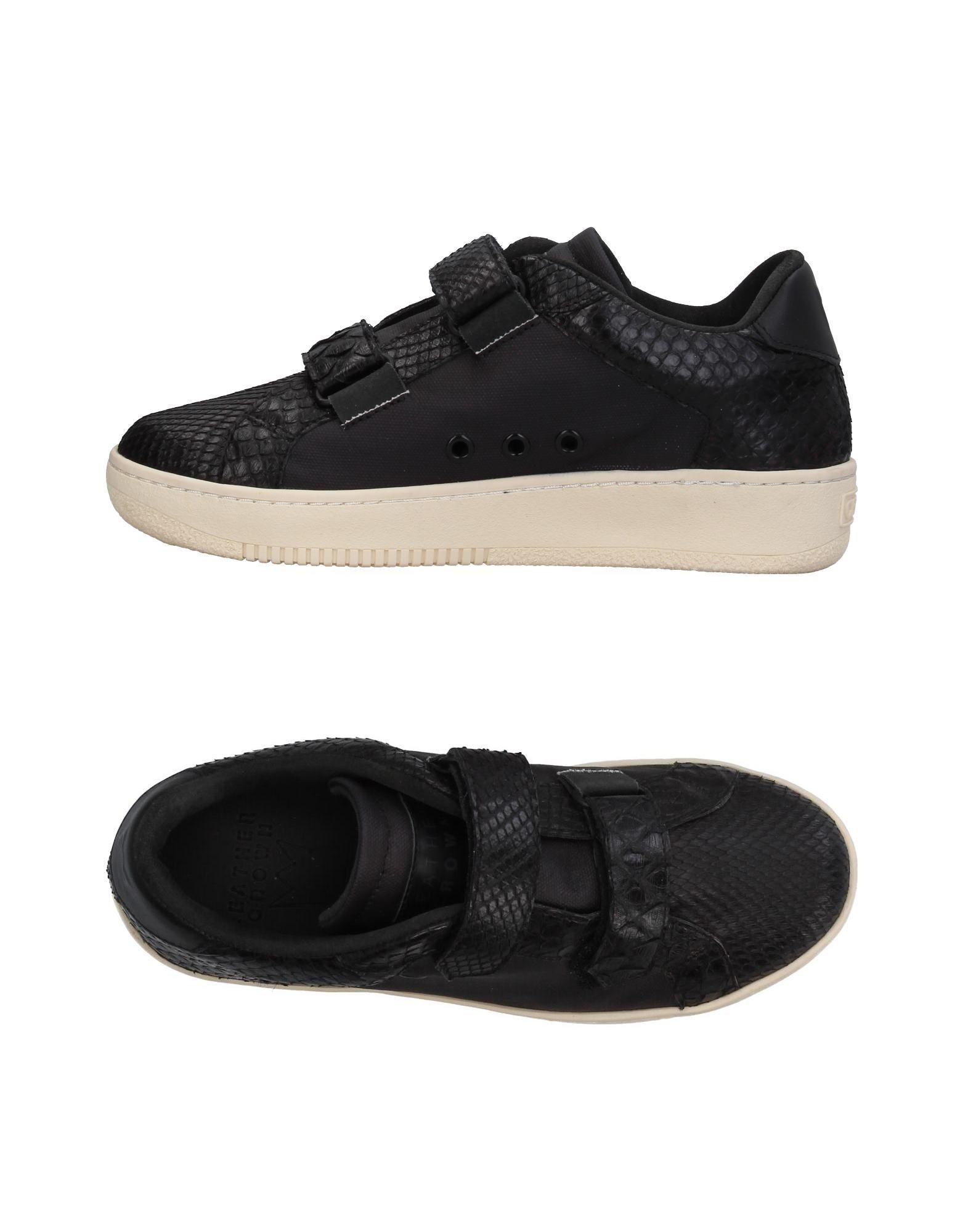 Leather Crown Sneakers Damen  11395109UM